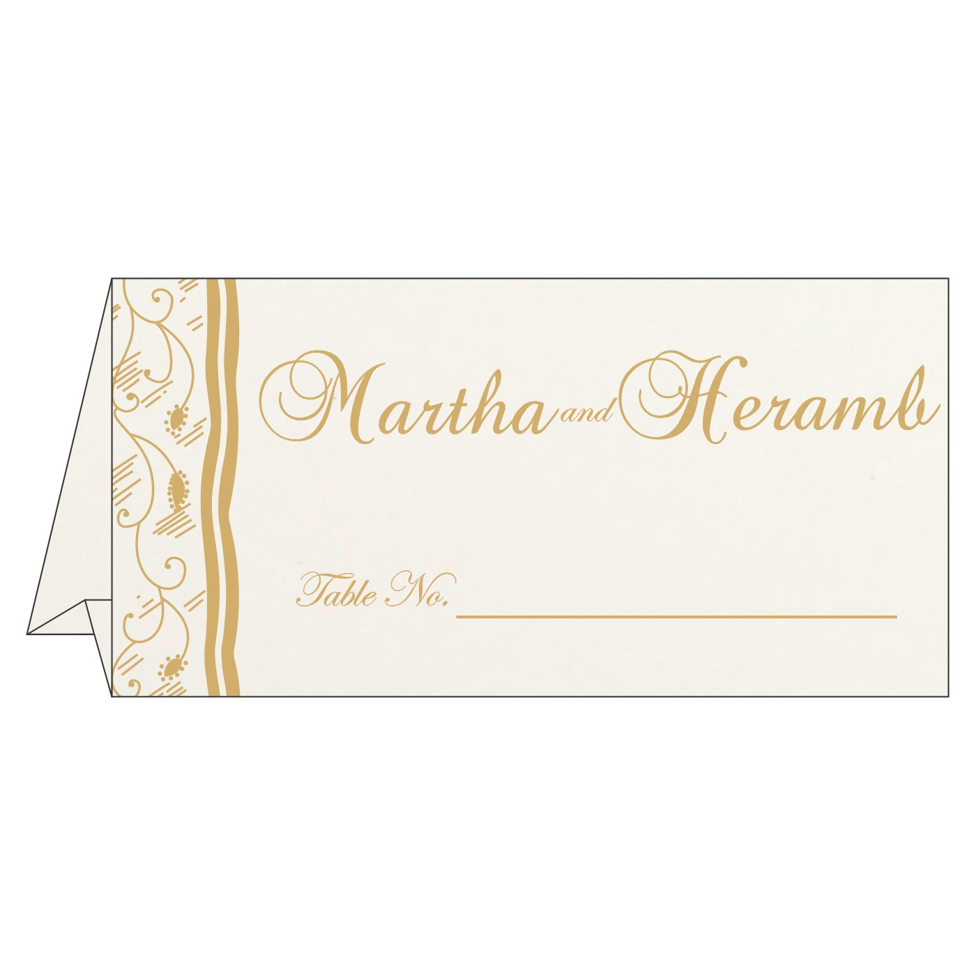 Table Cards - TC-8210D