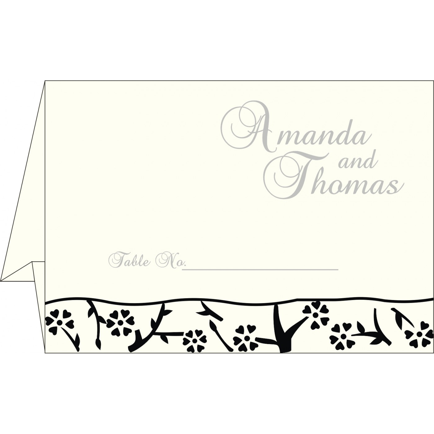 Table Cards - TC-8216N