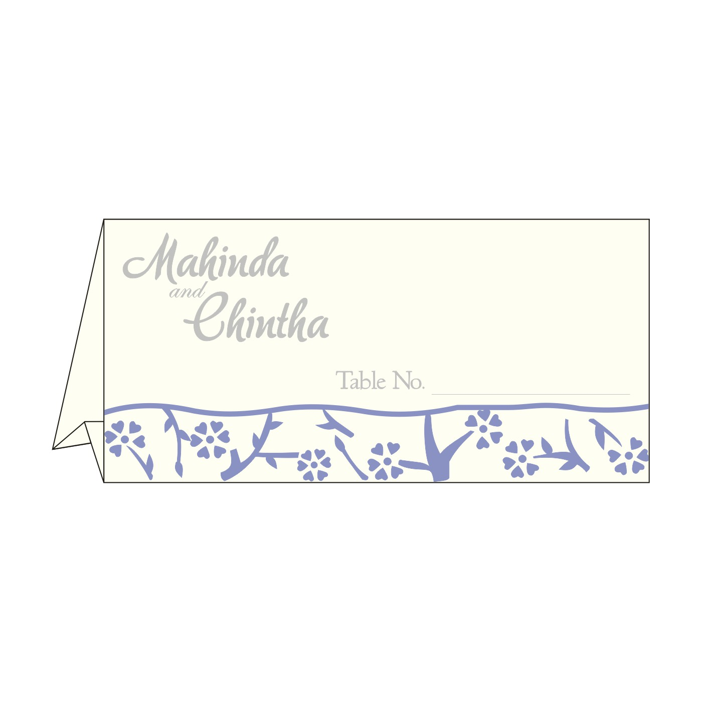 Table Cards - TC-8216Q