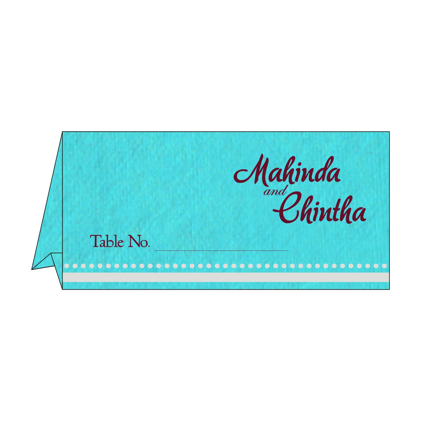 Table Cards - TC-8219P