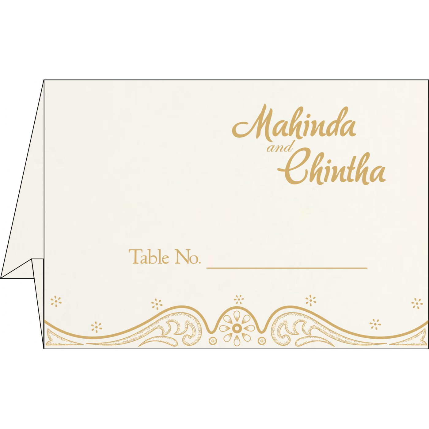 Table Cards - TC-8221G