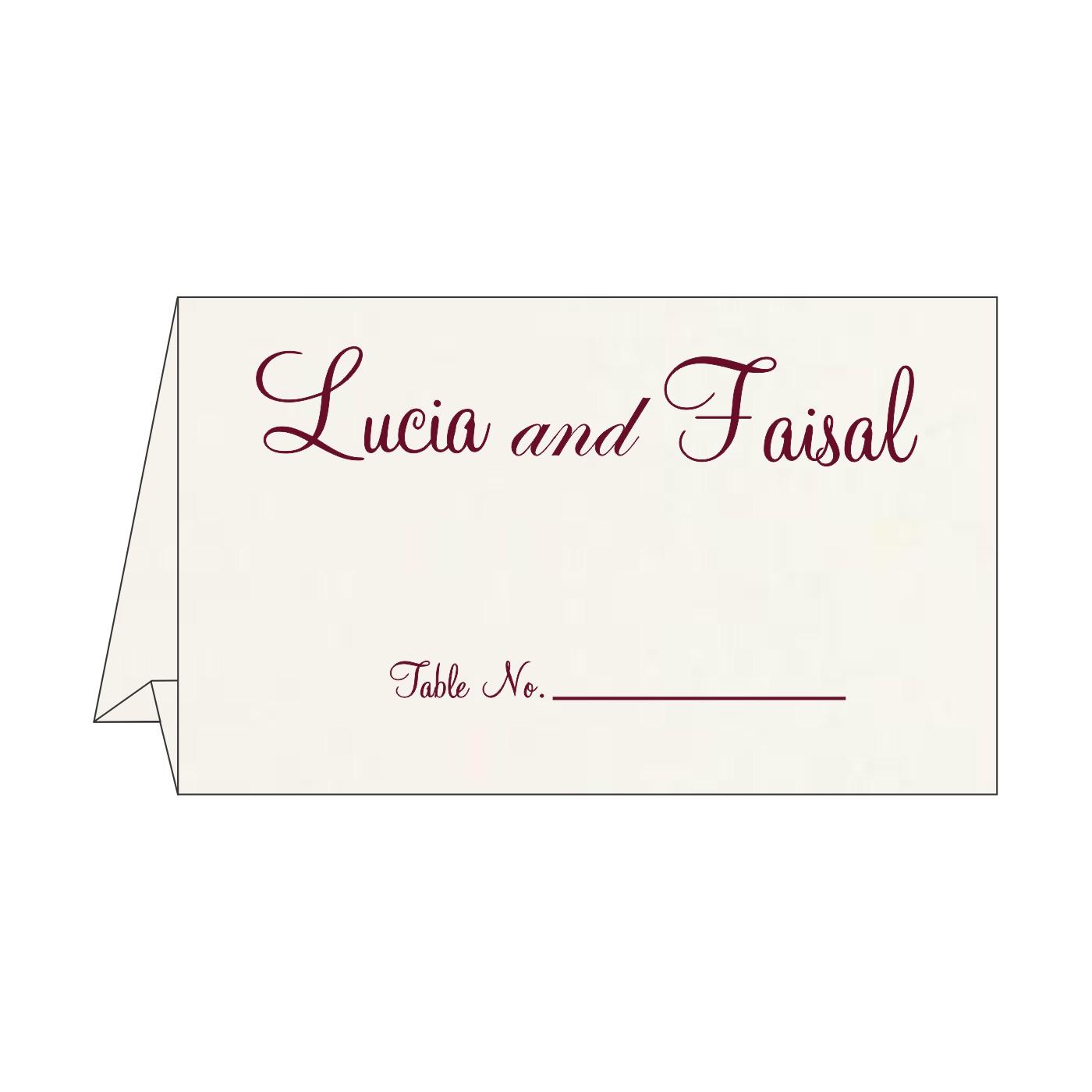 Table Cards - TC-8221H