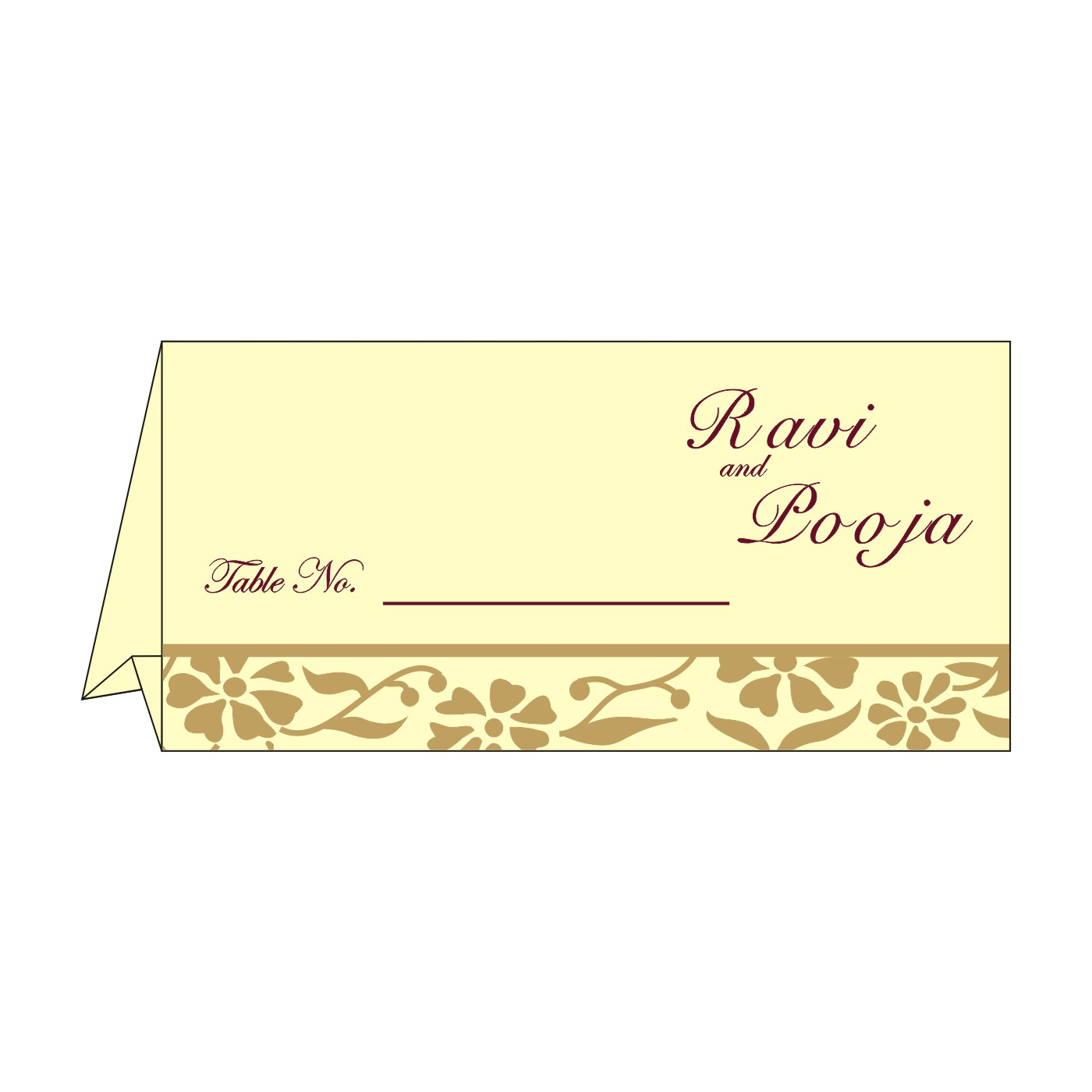 Table Cards - TC-8222F