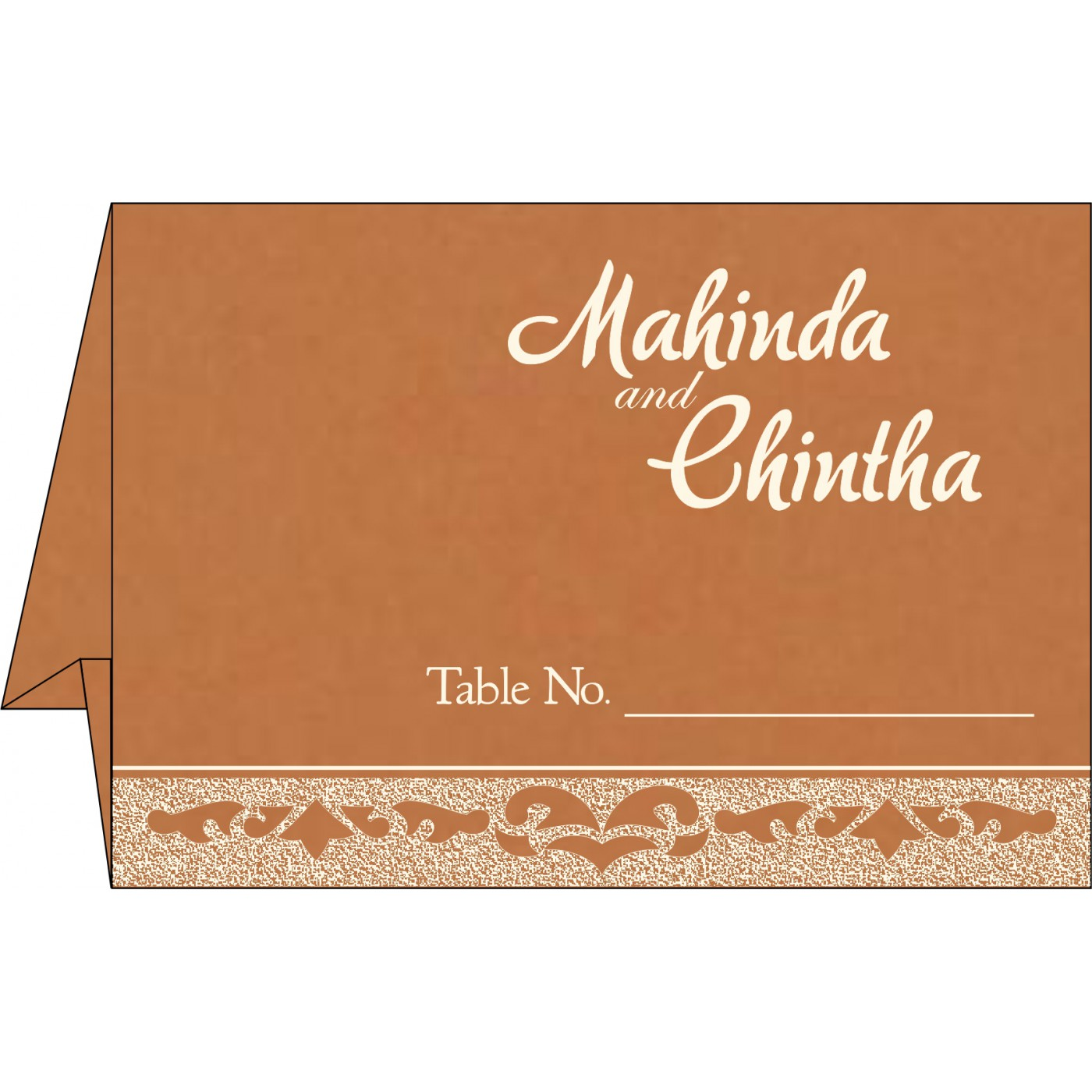Table Cards - TC-8227H