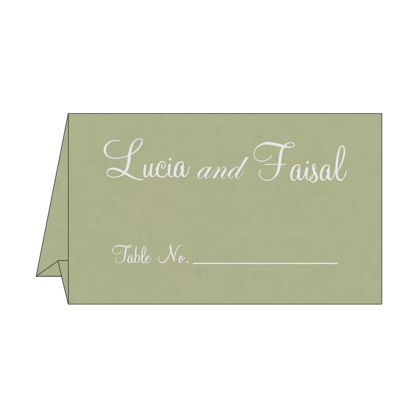 Table Cards - TC-8227J
