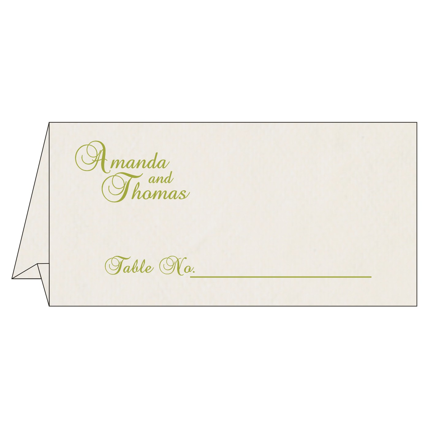 Table Cards - TC-8234C