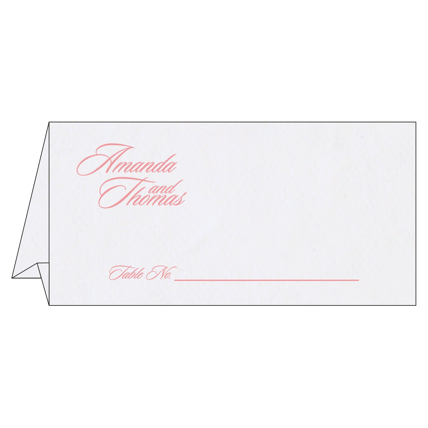 Table Cards - TC-8234G