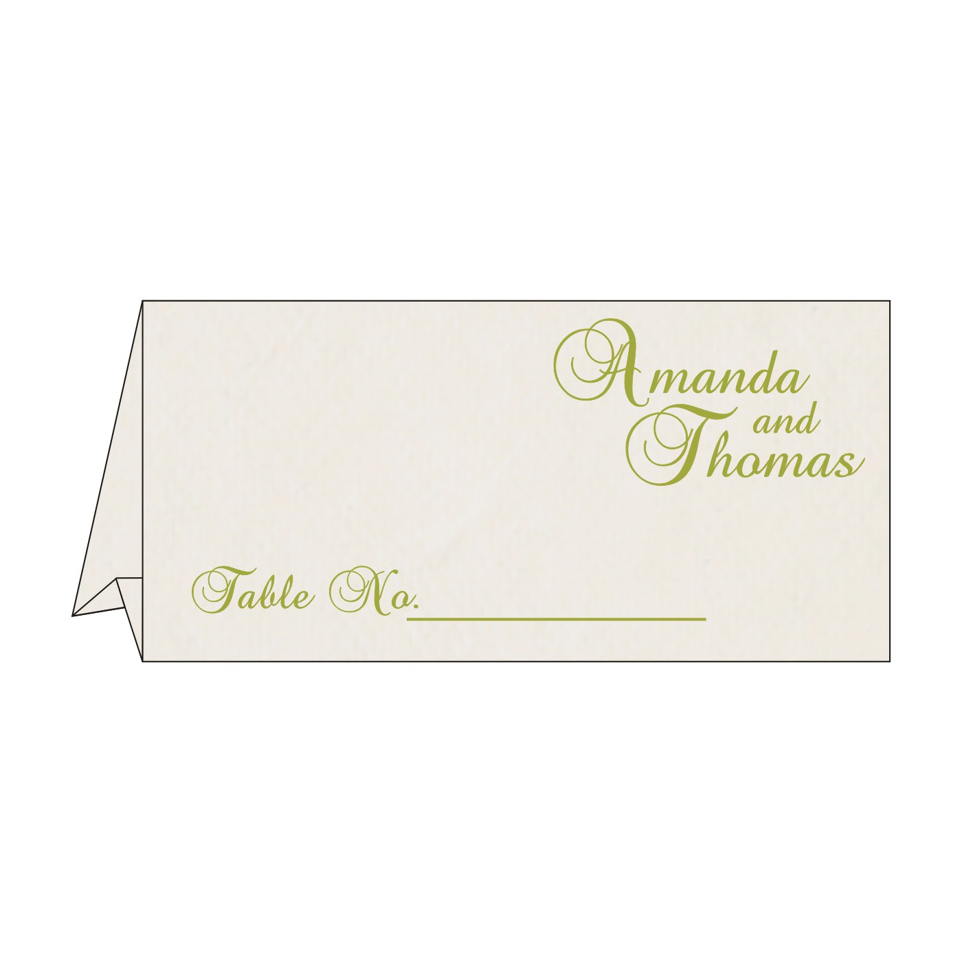 Table Cards - TC-8234H