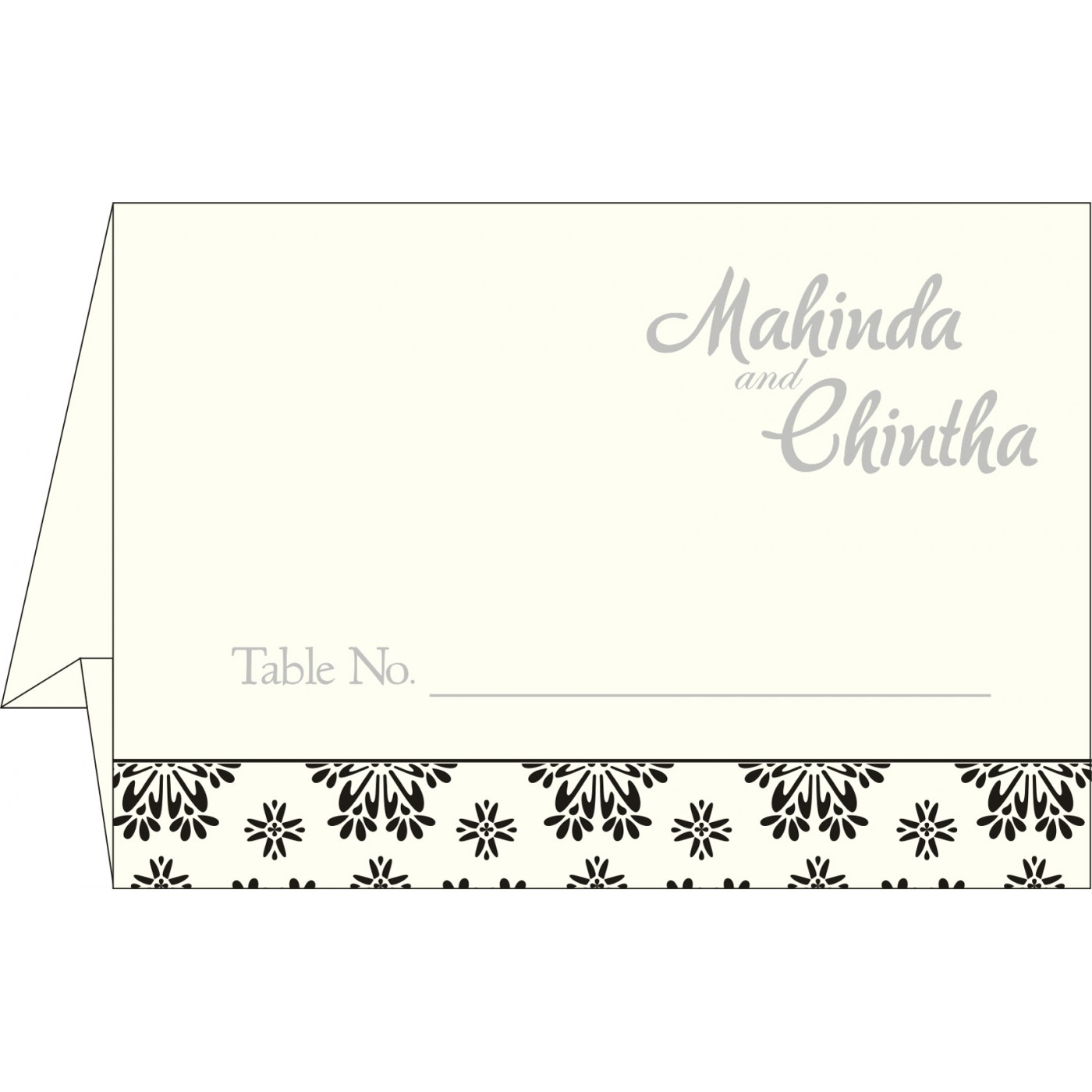 Table Cards - TC-8237H