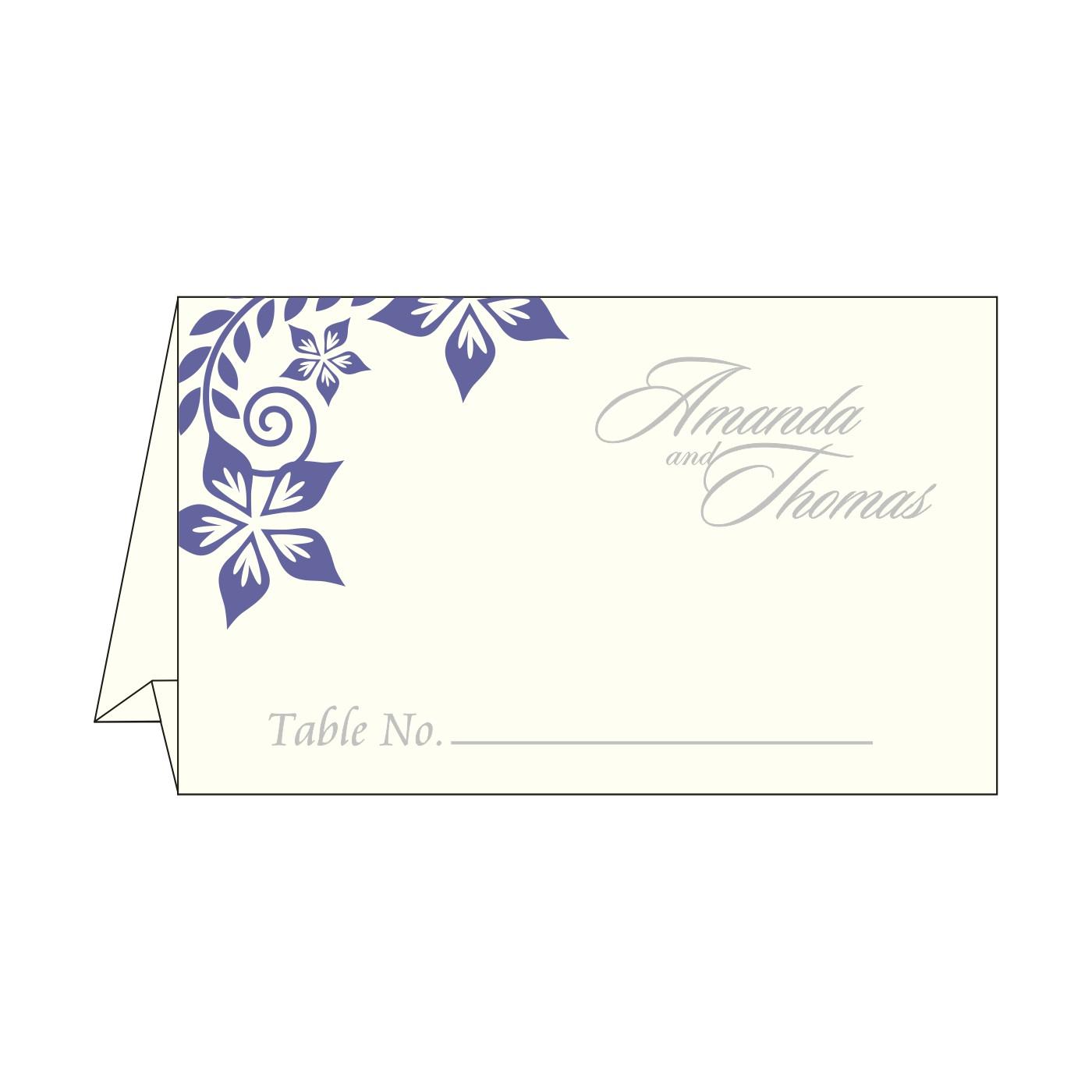 Table Cards - TC-8240B