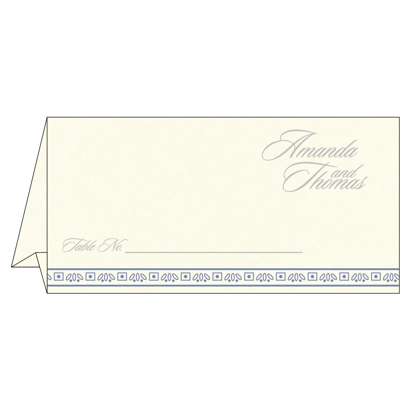 Table Cards - TC-8242J