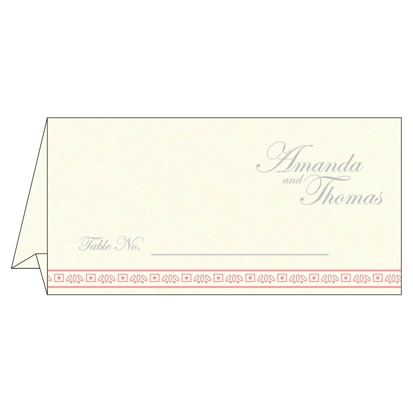 Table Cards - TC-8242N