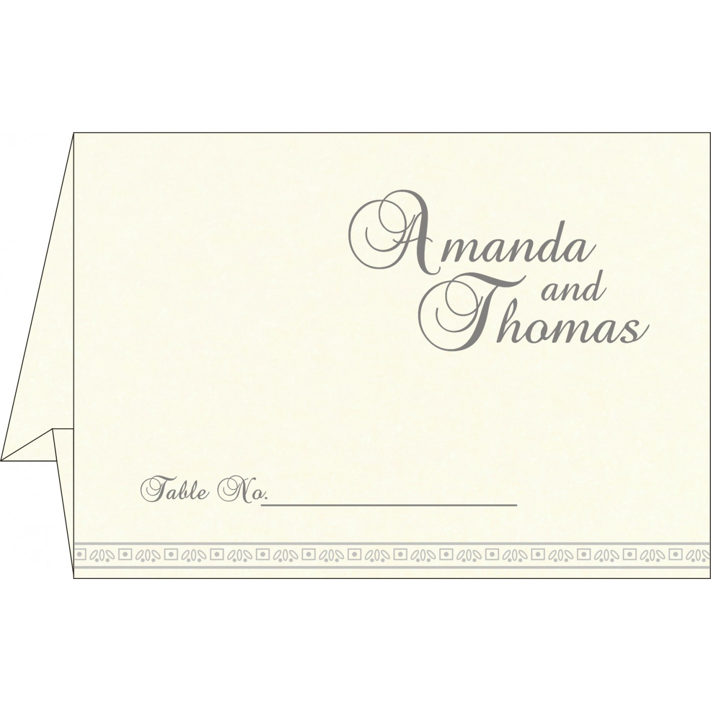 Table Cards - TC-8242P