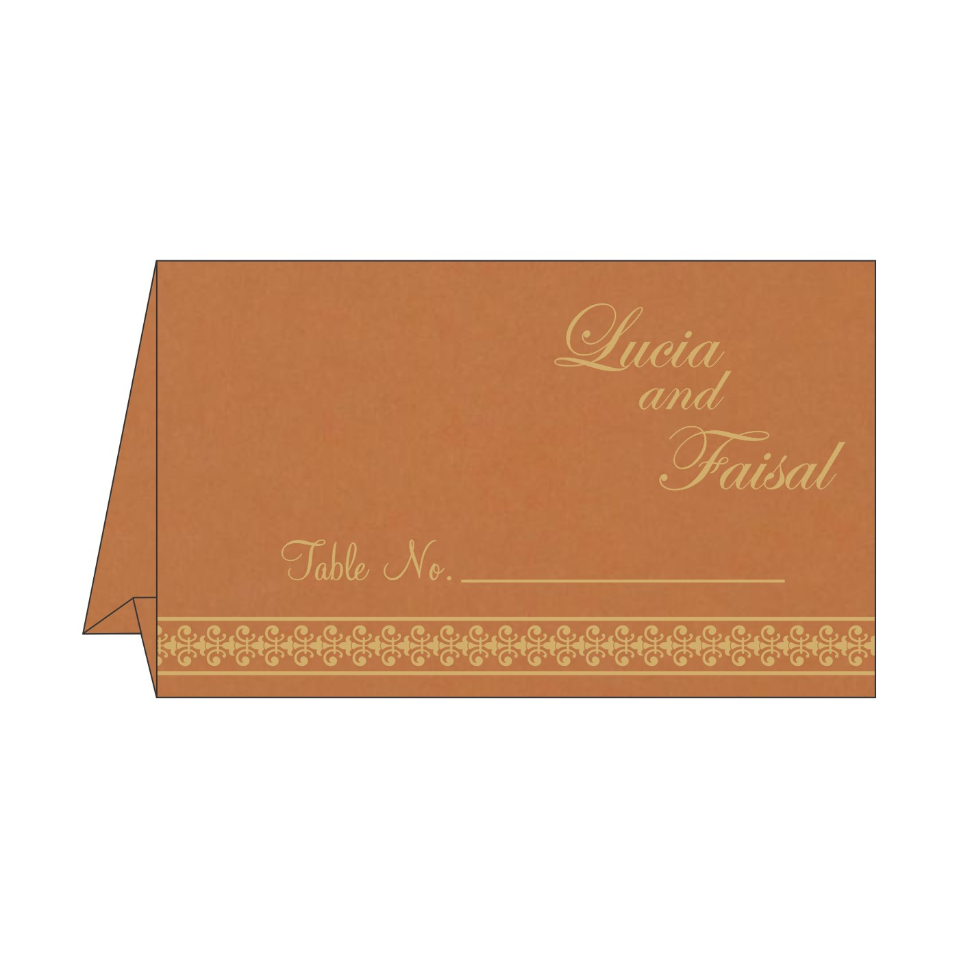 Table Cards - TC-8247F