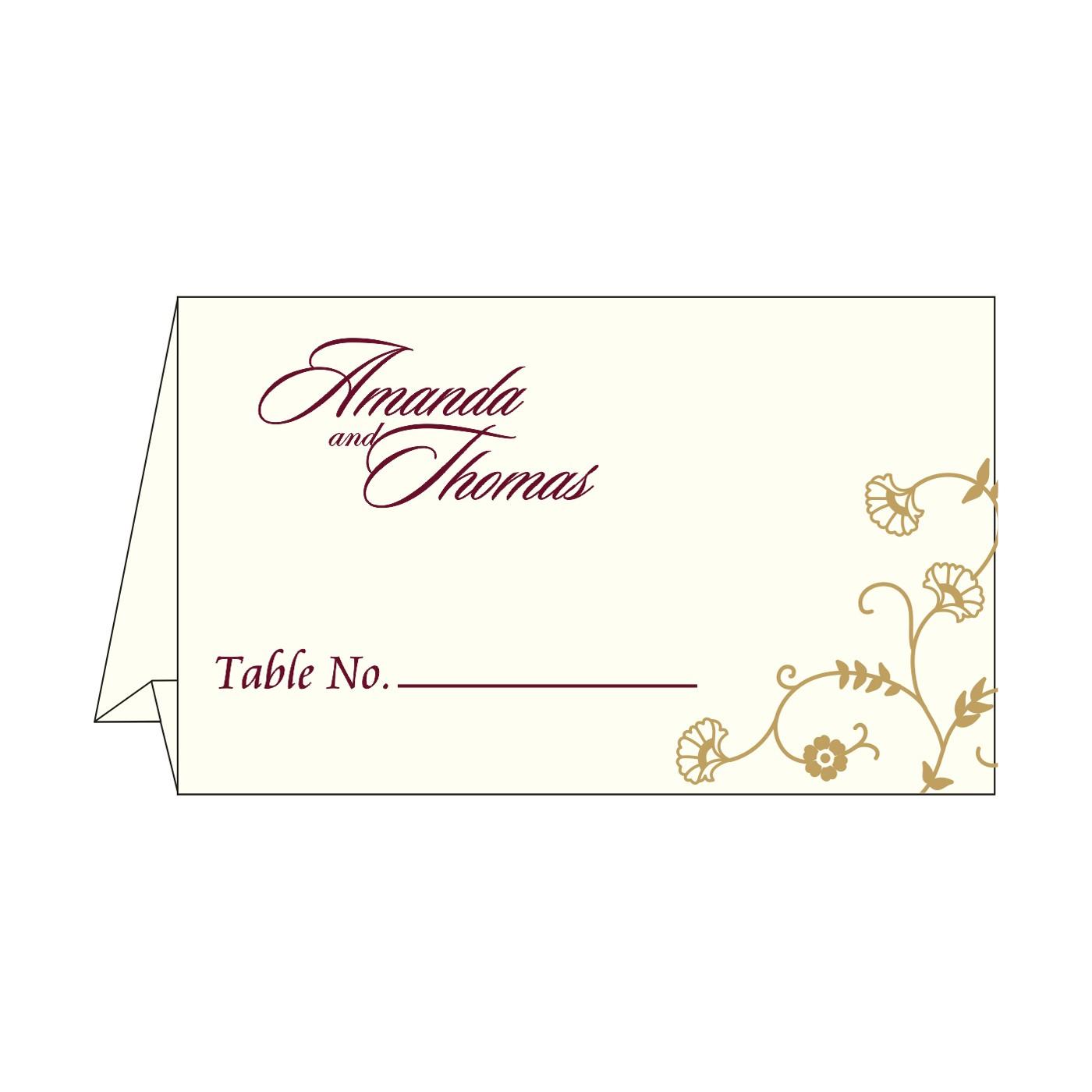 Table Cards - TC-8248B