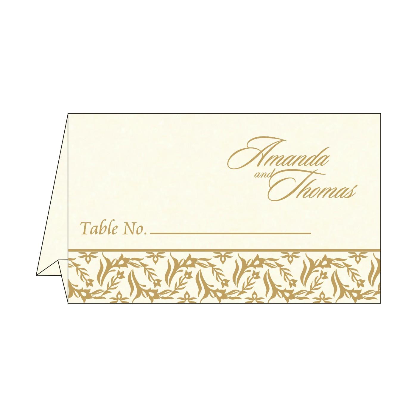 Table Cards - TC-8249B