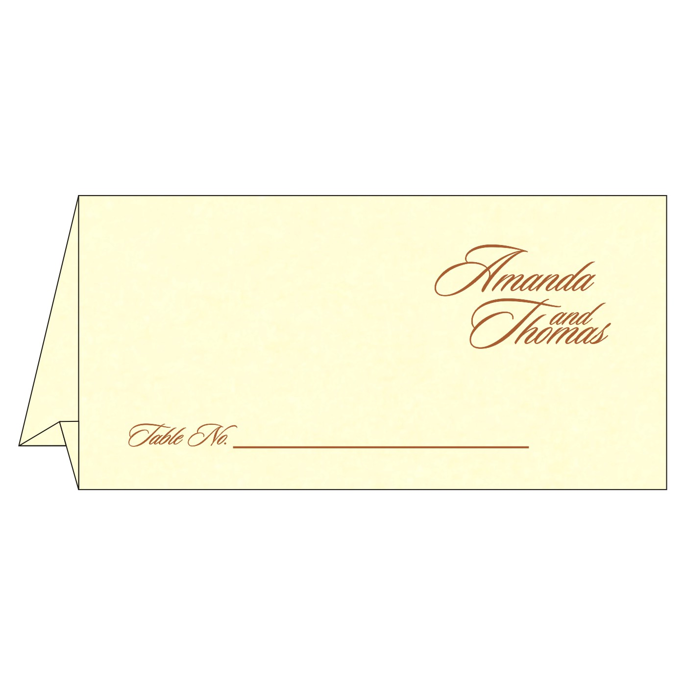 Table Cards - TC-8253G