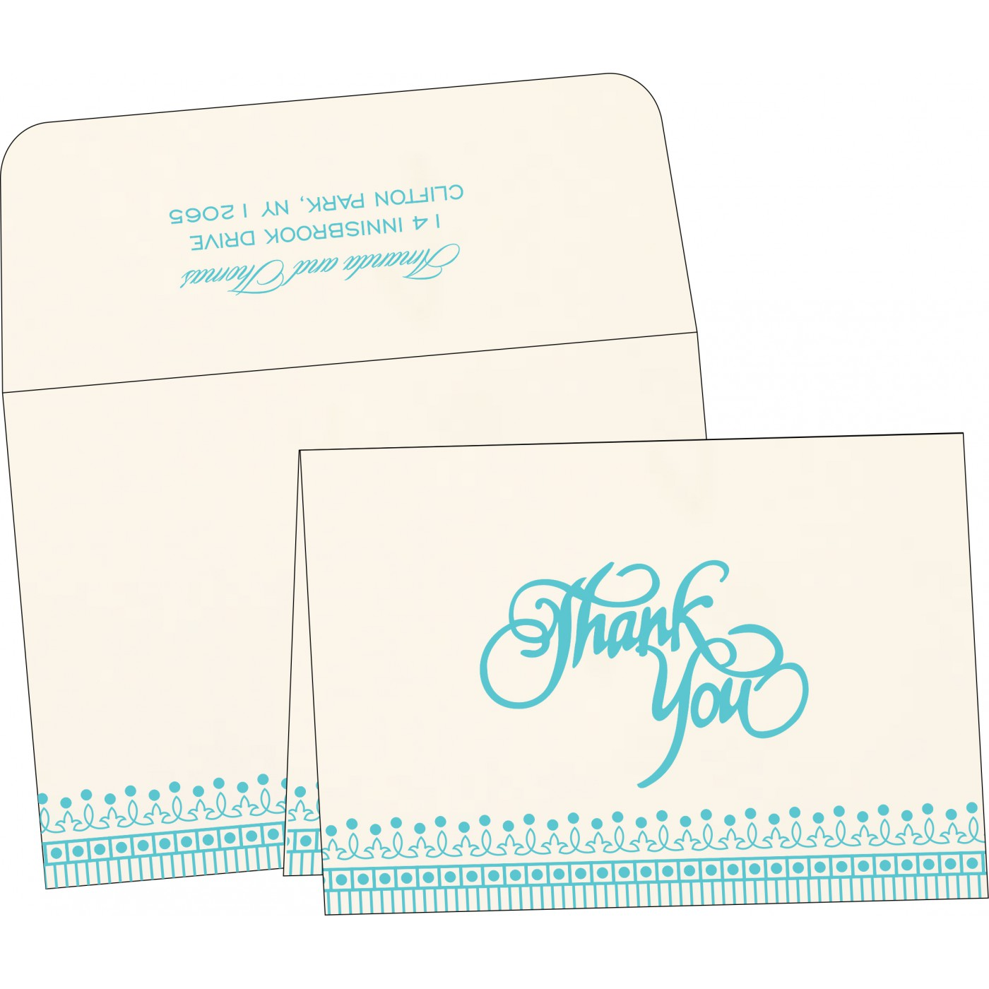 Thank You Cards - TYC-1338