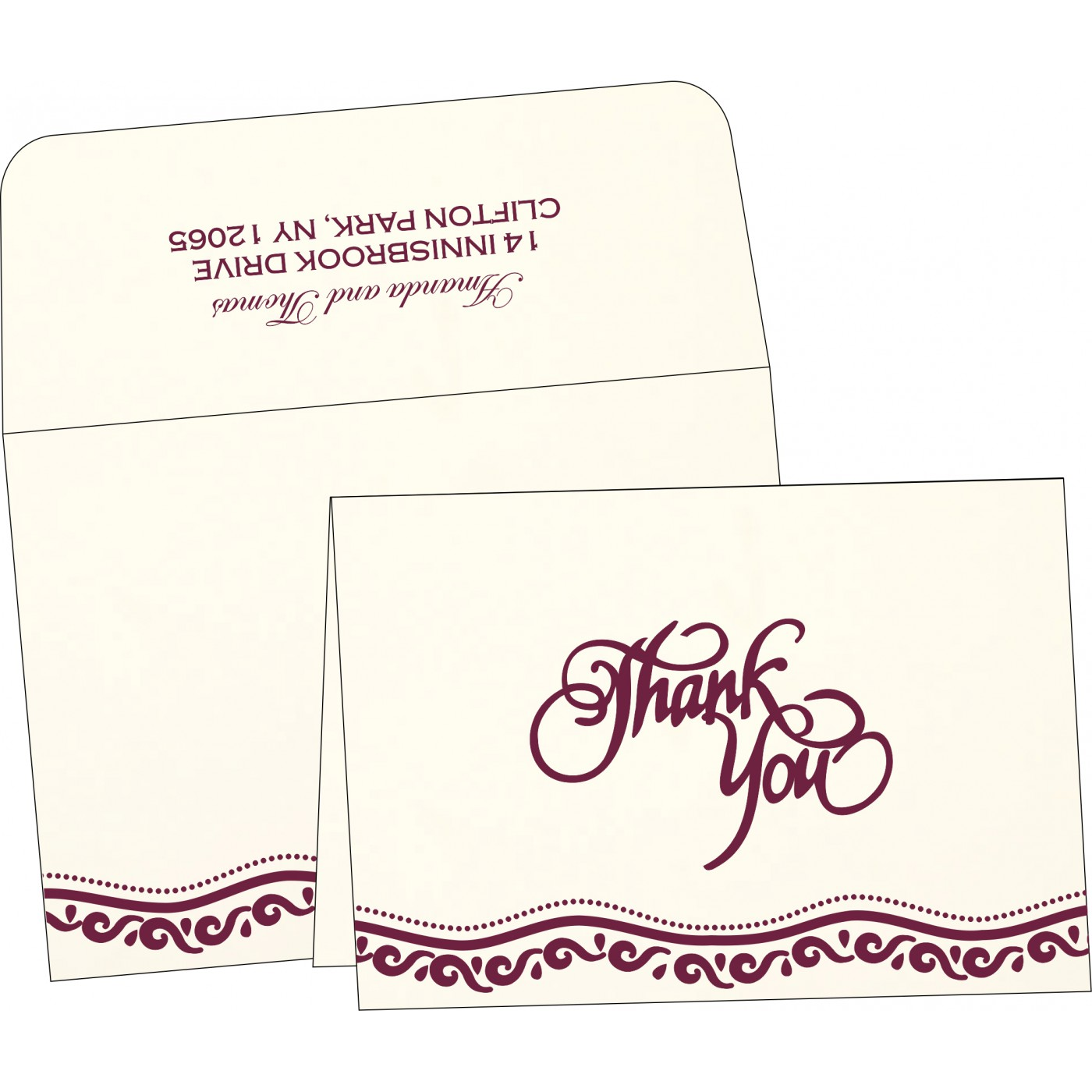 Thank You Cards - TYC-1375