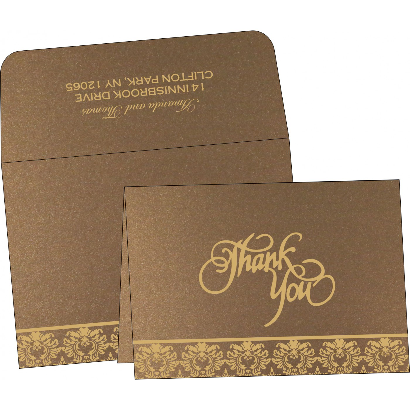 Thank You Cards - TYC-1500