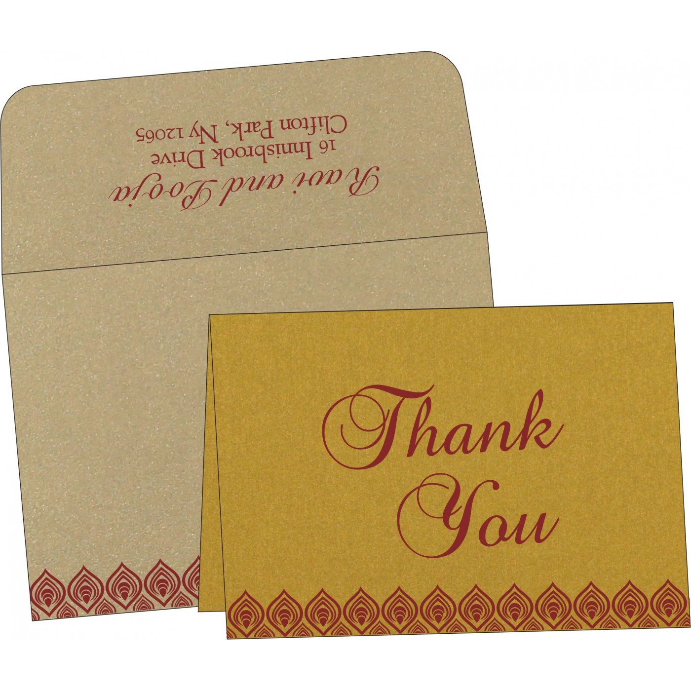 Thank You Cards - TYC-1506