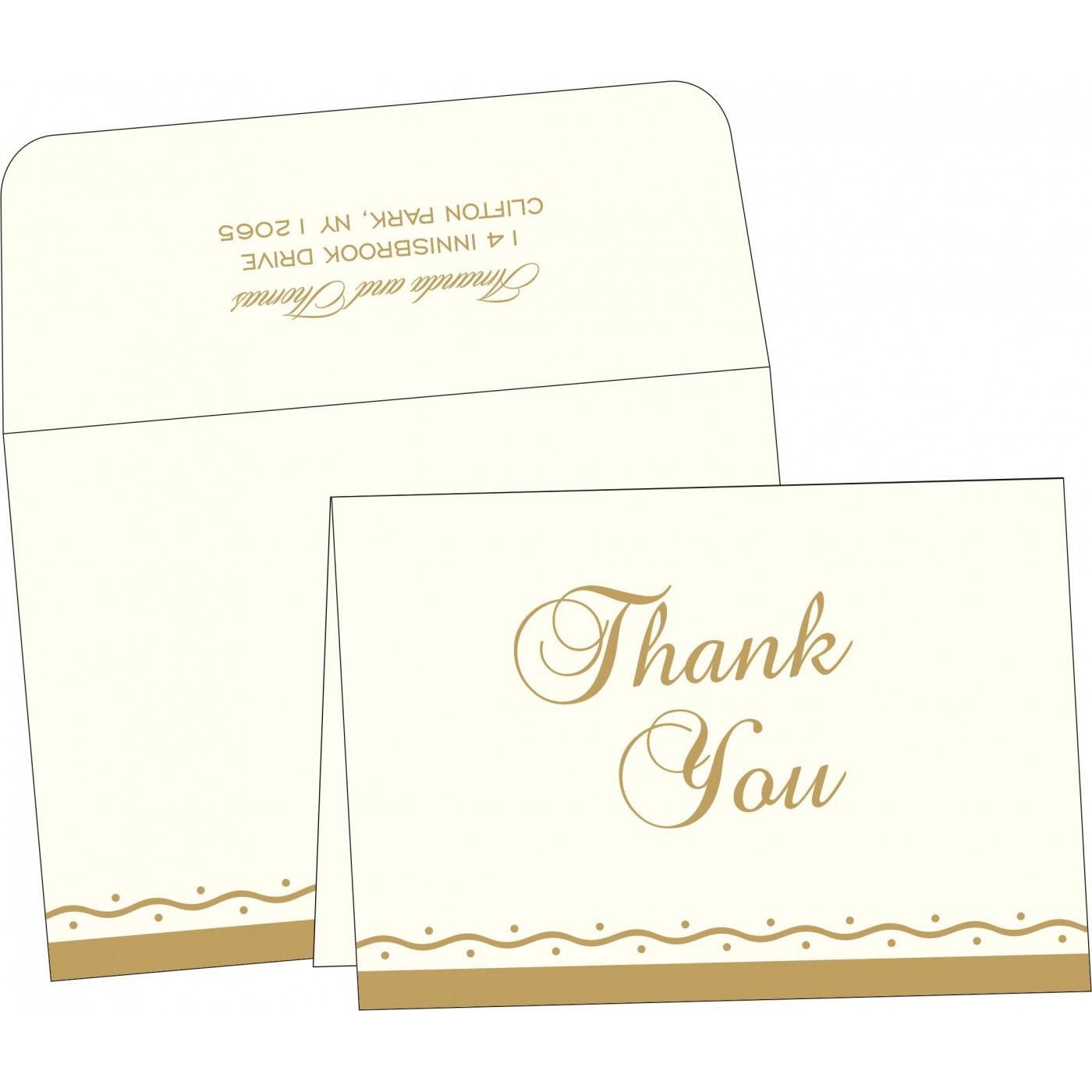 Thank You Cards - TYC-2103