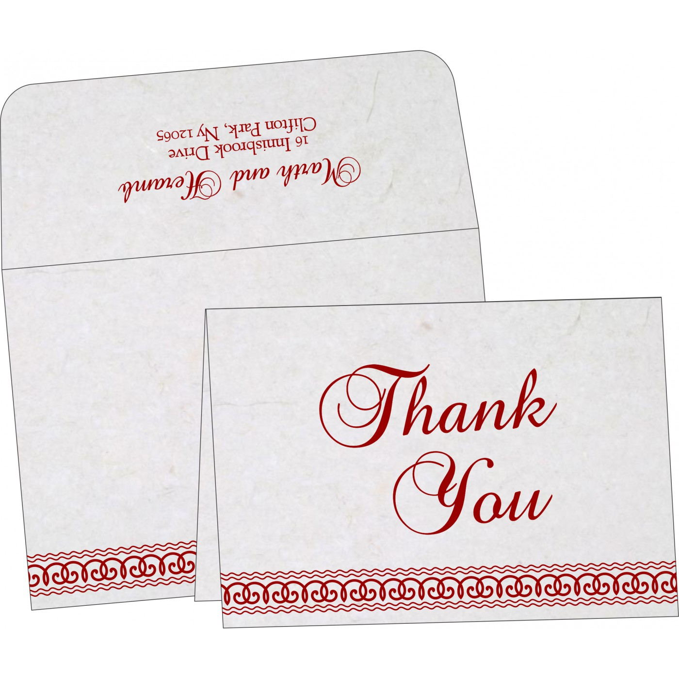 Thank You Cards - TYC-5002C