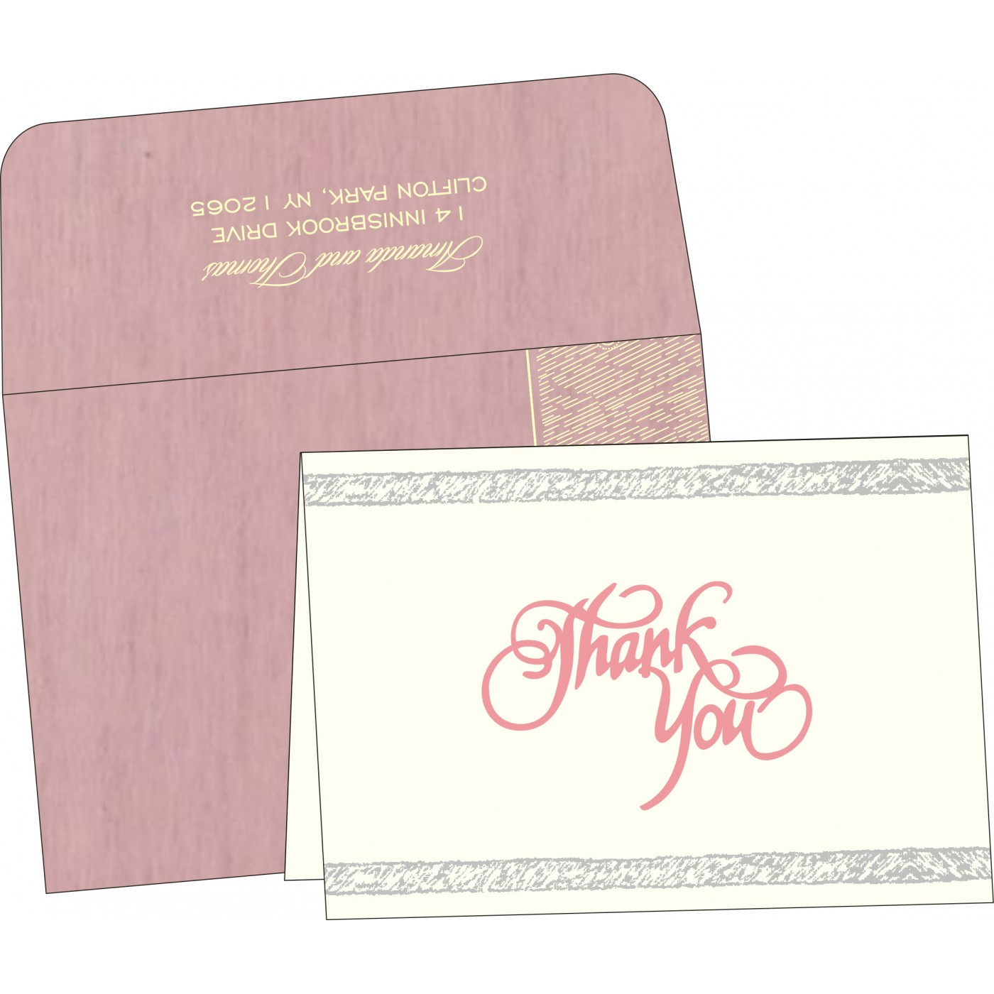 Thank You Cards - TYC-8209H