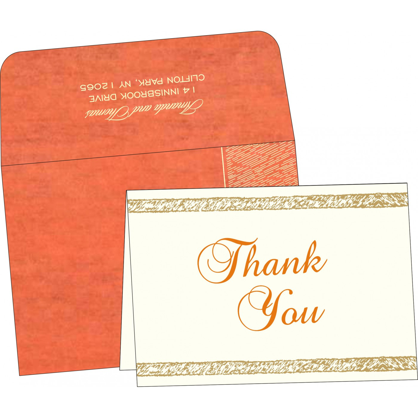 Thank You Cards - TYC-8209M