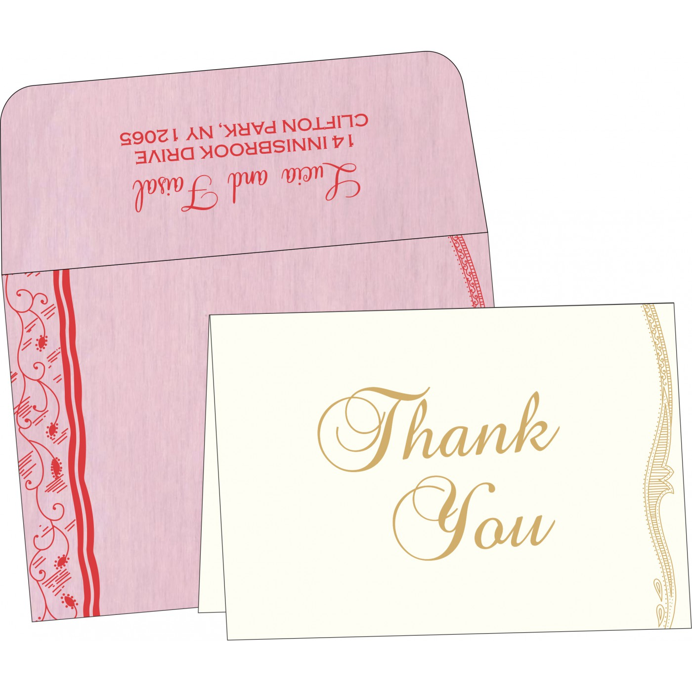 Thank You Cards - TYC-8210B