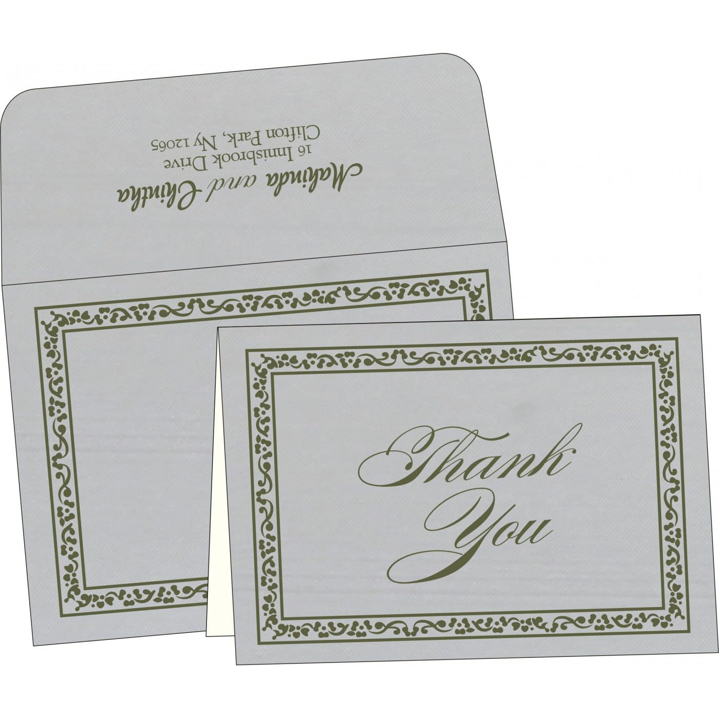 Thank You Cards - TYC-8214L