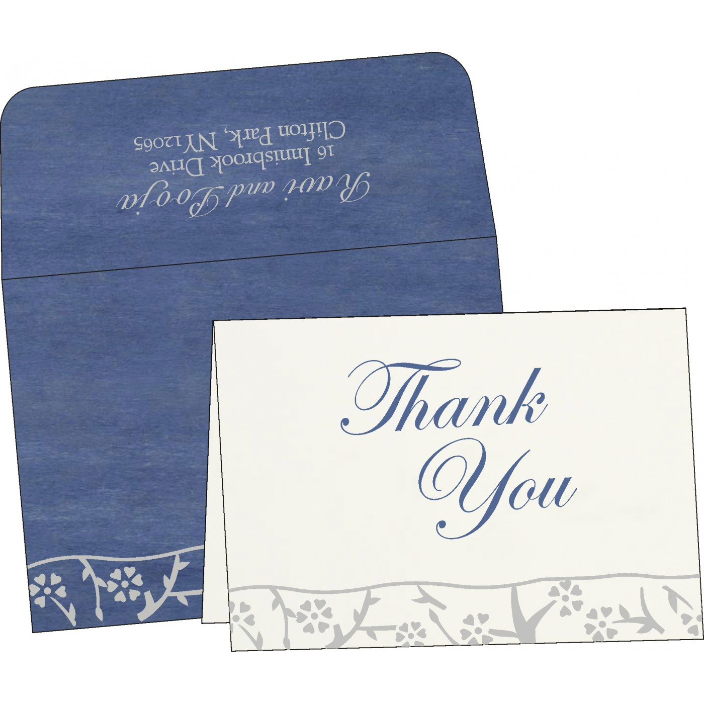 Thank You Cards - TYC-8216D