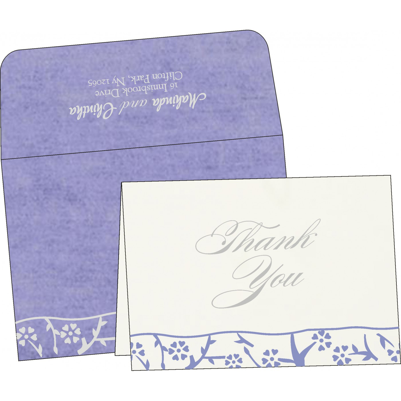 Thank You Cards - TYC-8216Q