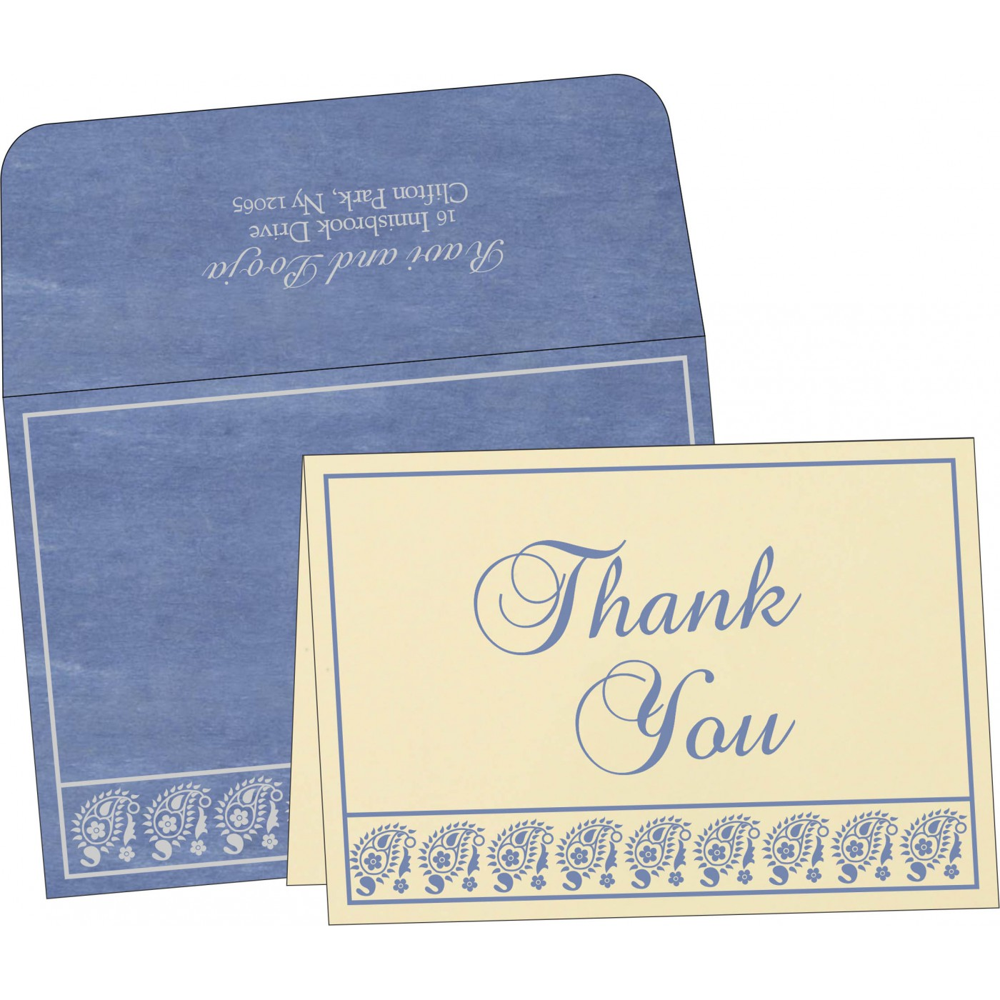 Thank You Cards - TYC-8218K