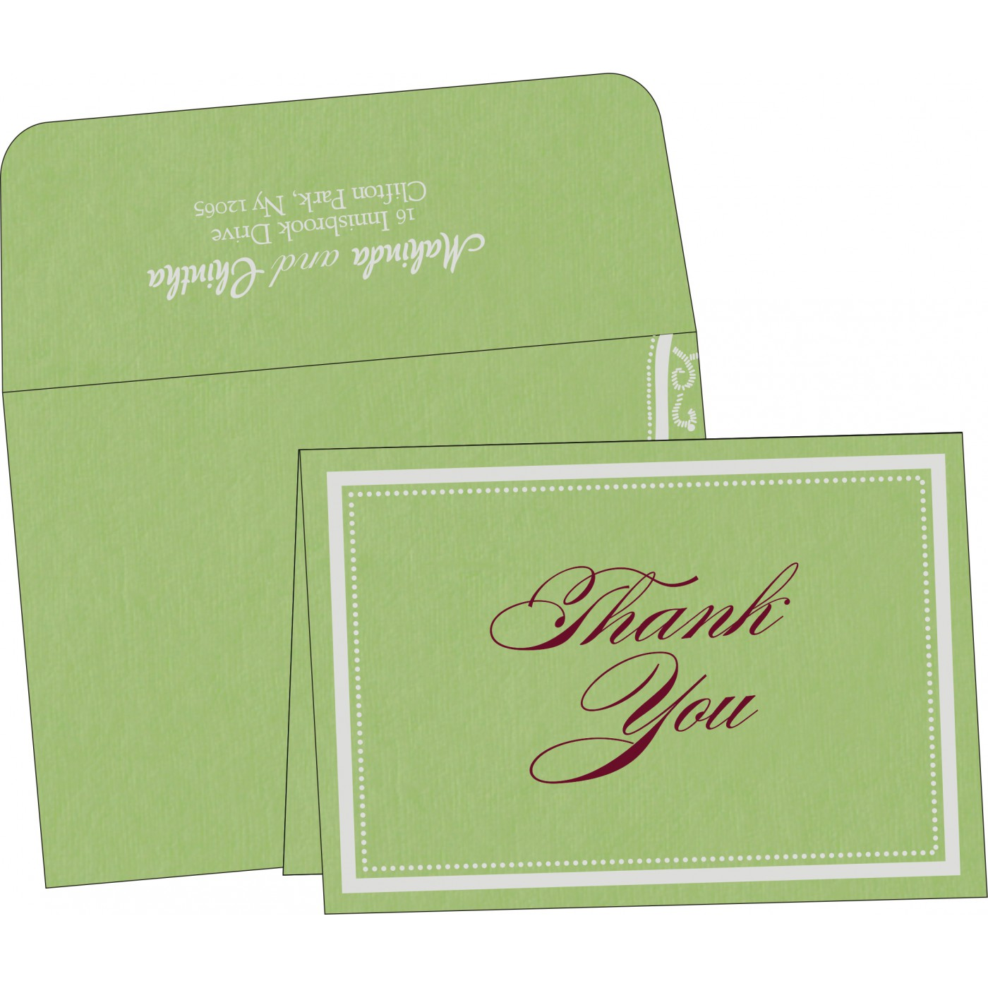 Thank You Cards - TYC-8219J
