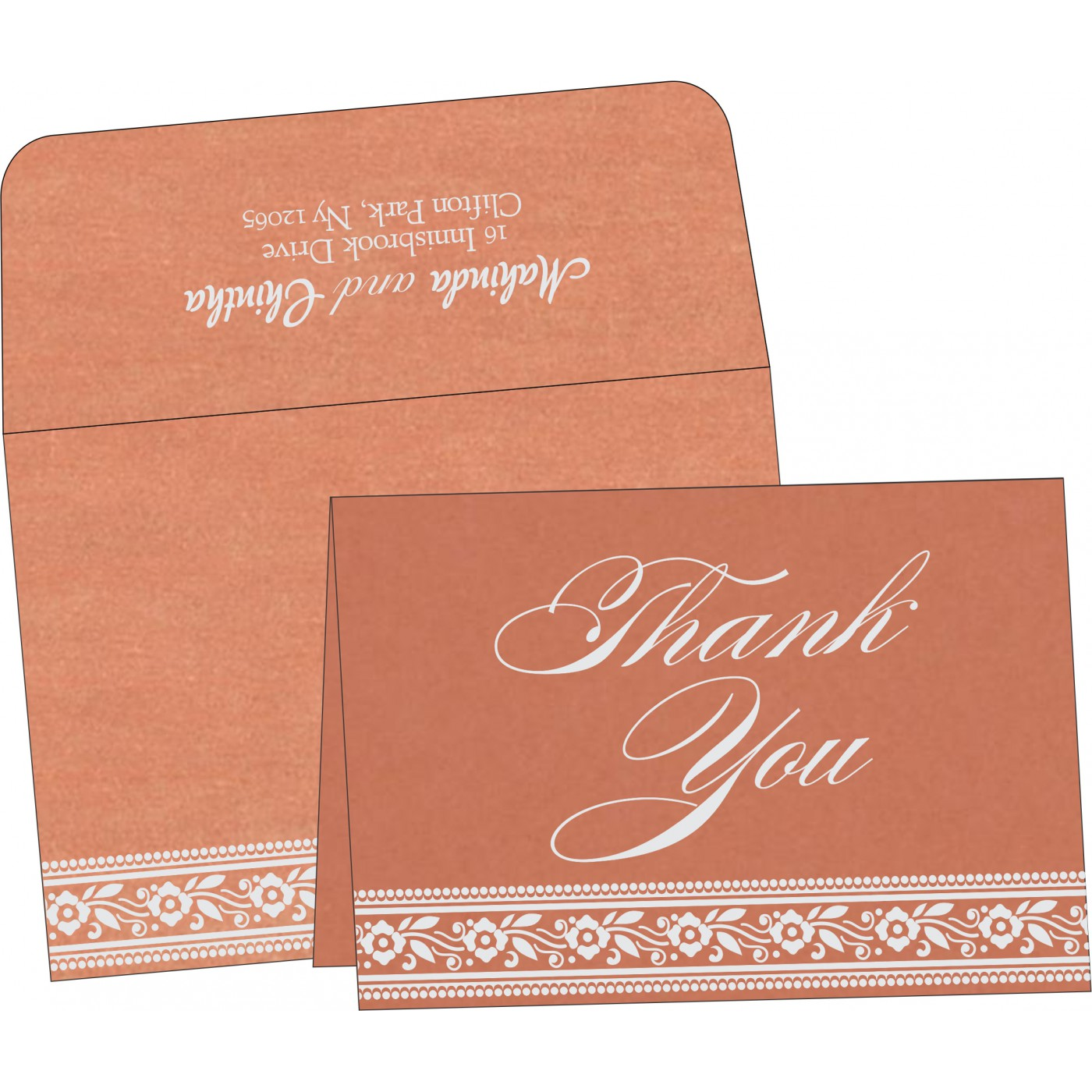 Thank You Cards - TYC-8220H