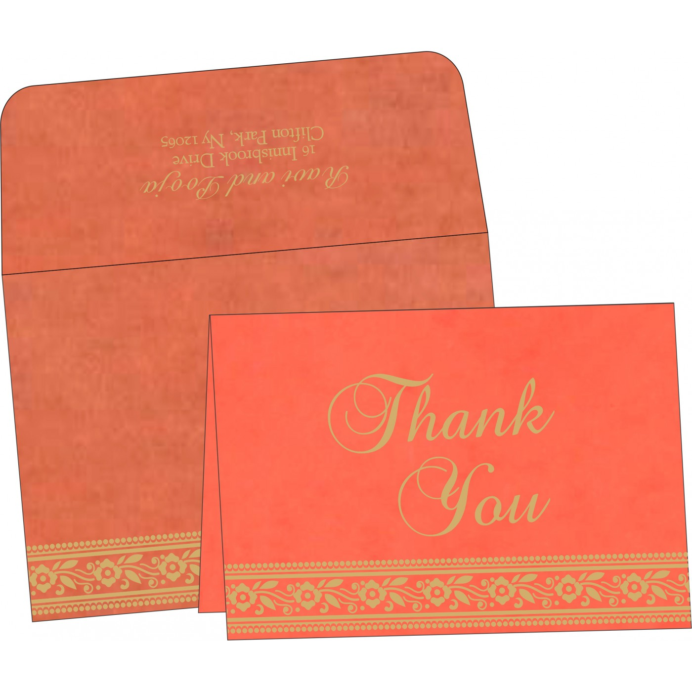 Thank You Cards - TYC-8220N