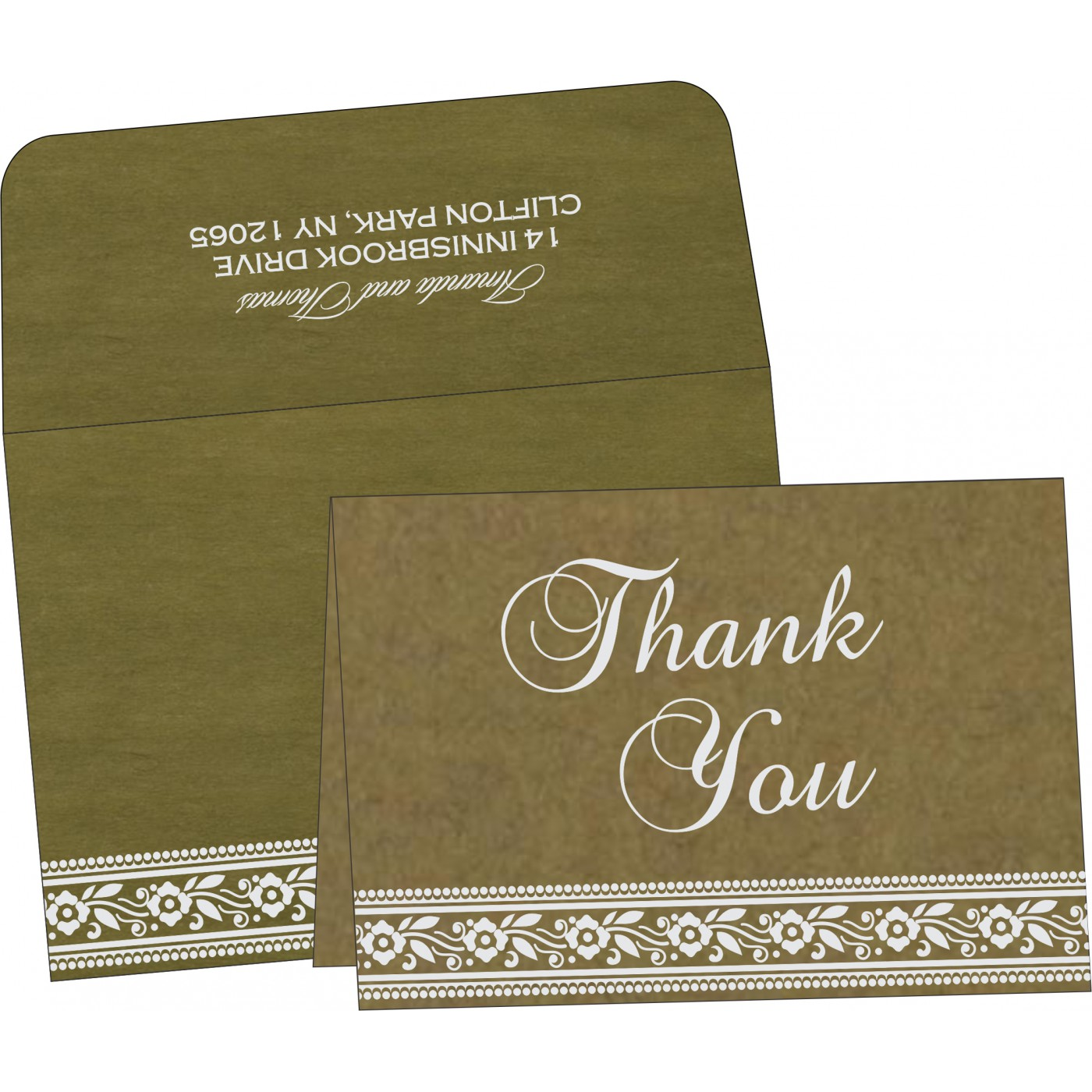 Thank You Cards - TYC-8220Q