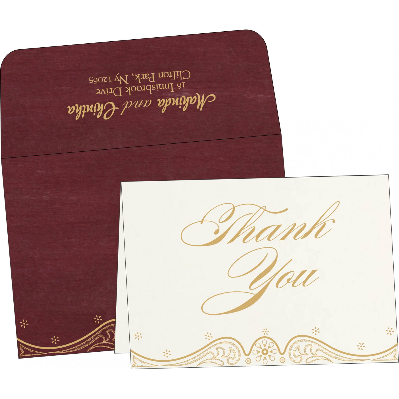 Thank You Cards - TYC-8221P