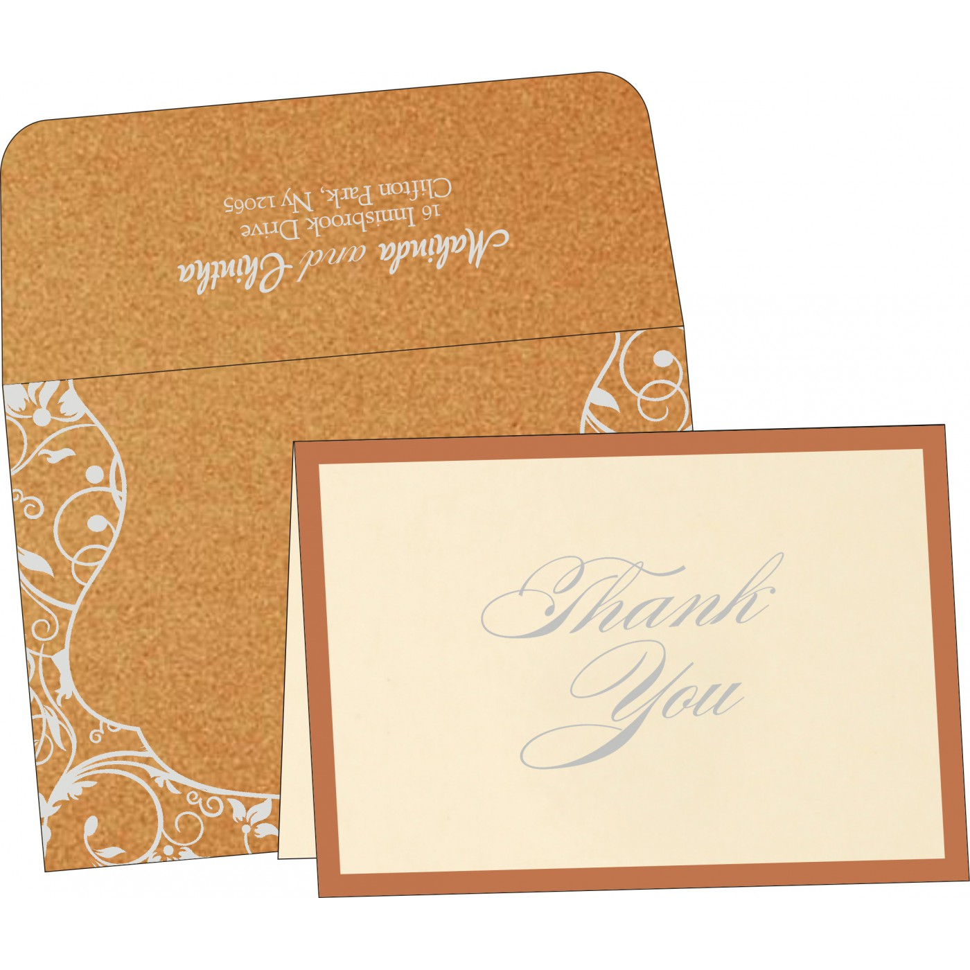 Thank You Cards - TYC-8229O