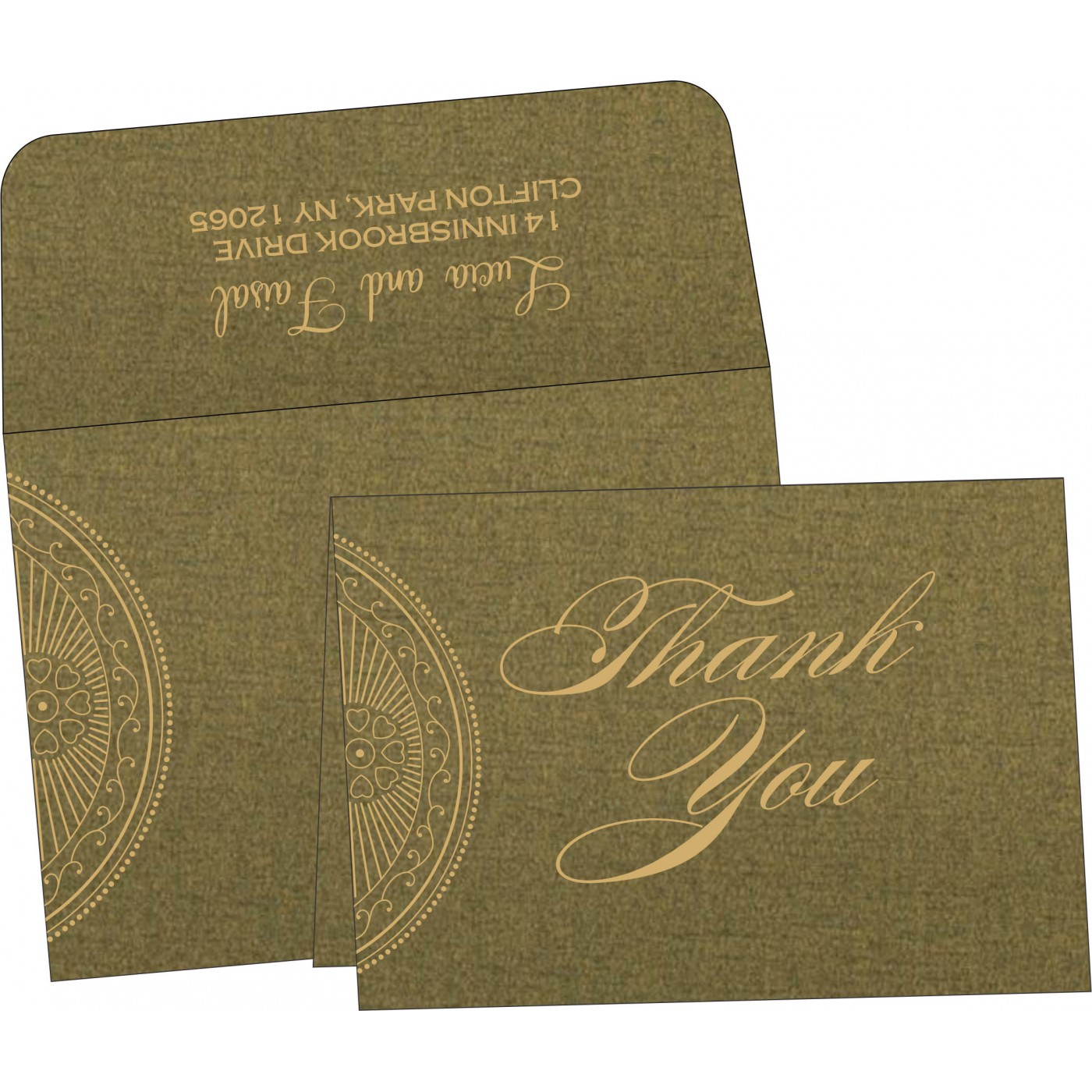 Thank You Cards - TYC-8230L