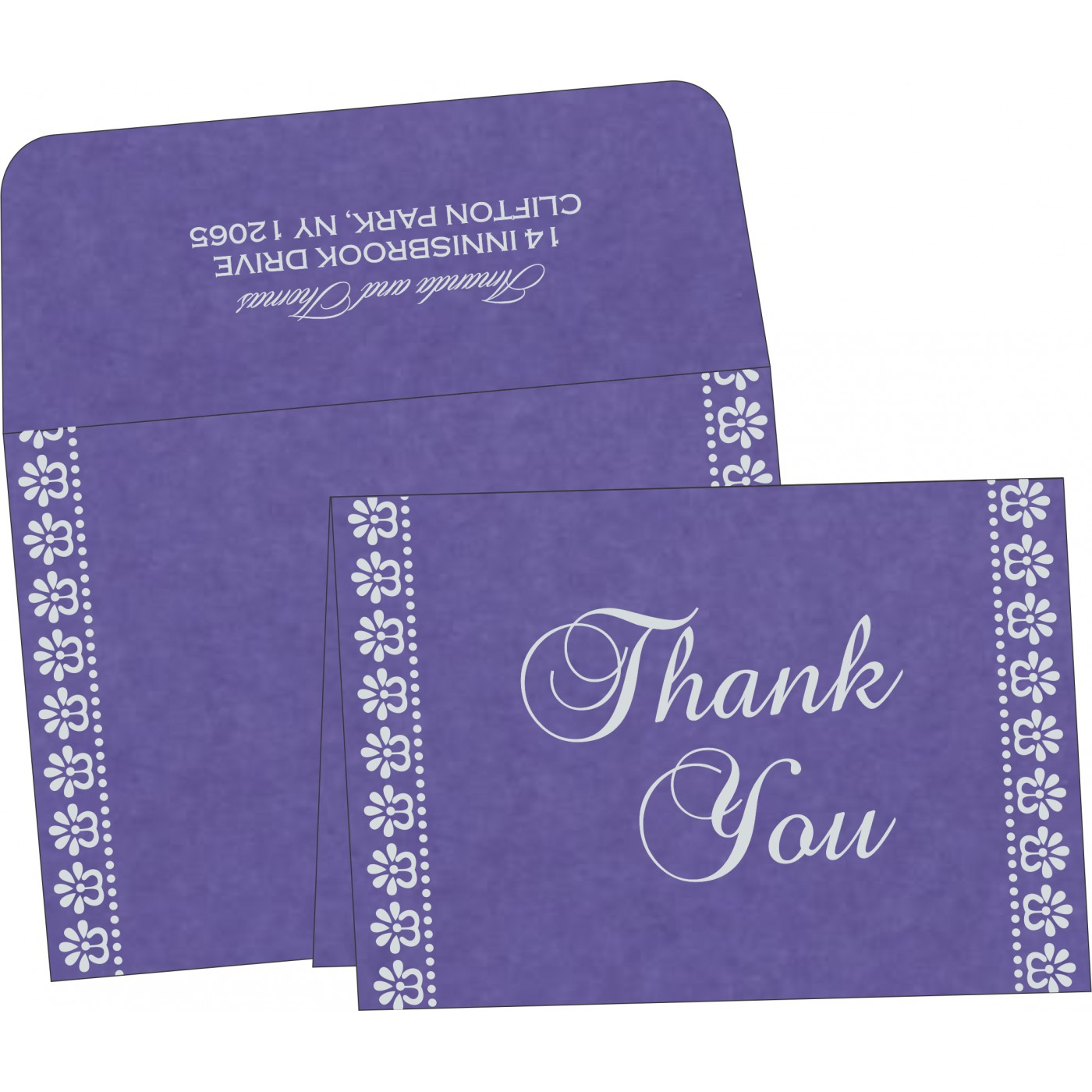 Thank You Cards - TYC-8231K