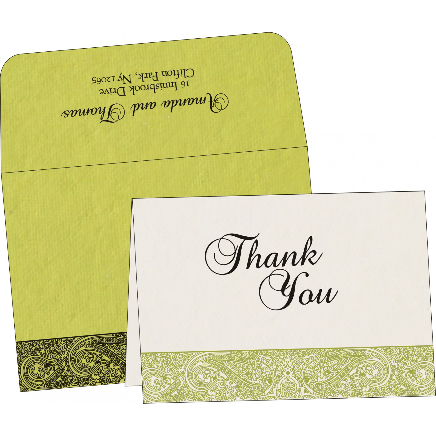 Thank You Cards - TYC-8234H