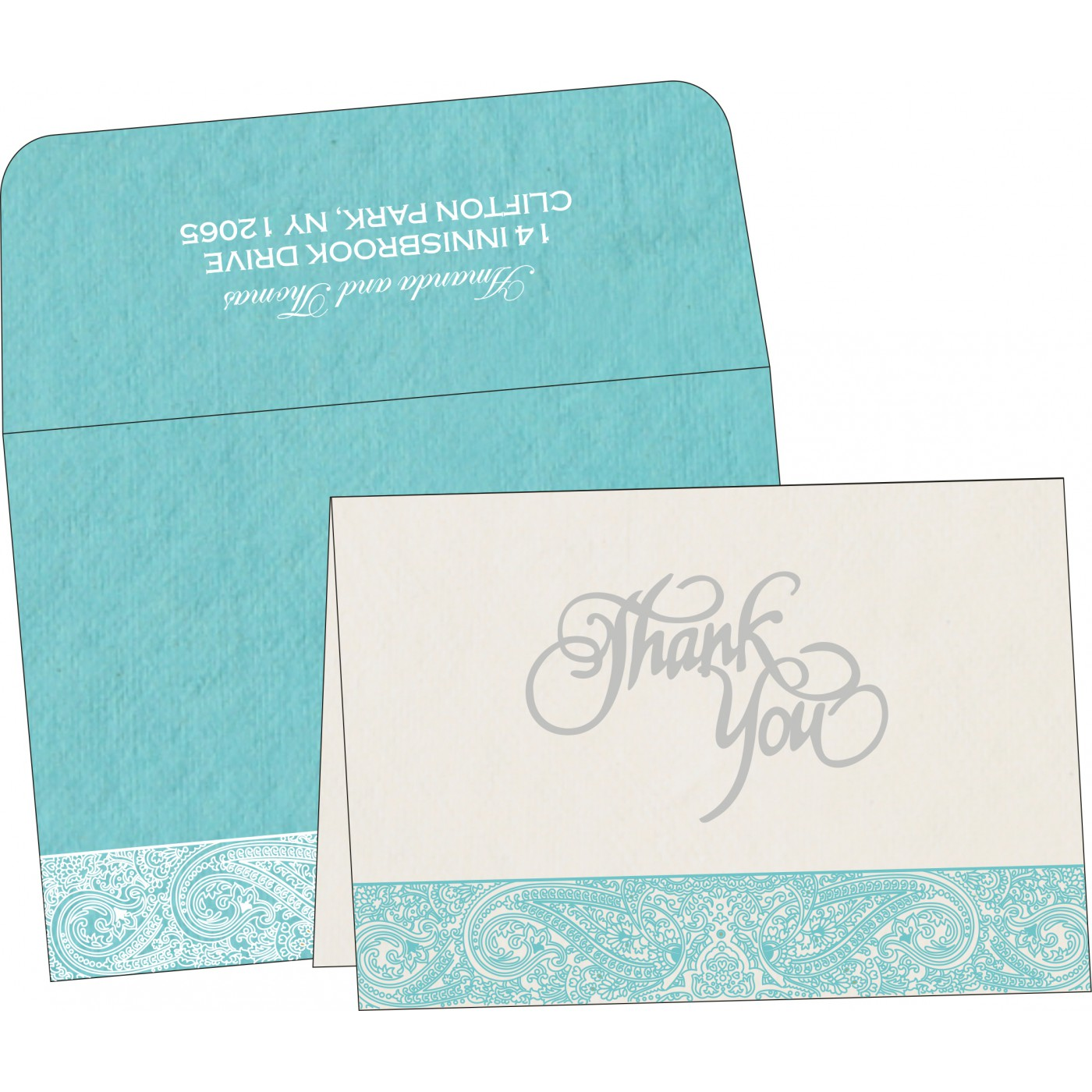 Thank You Cards - TYC-8234K