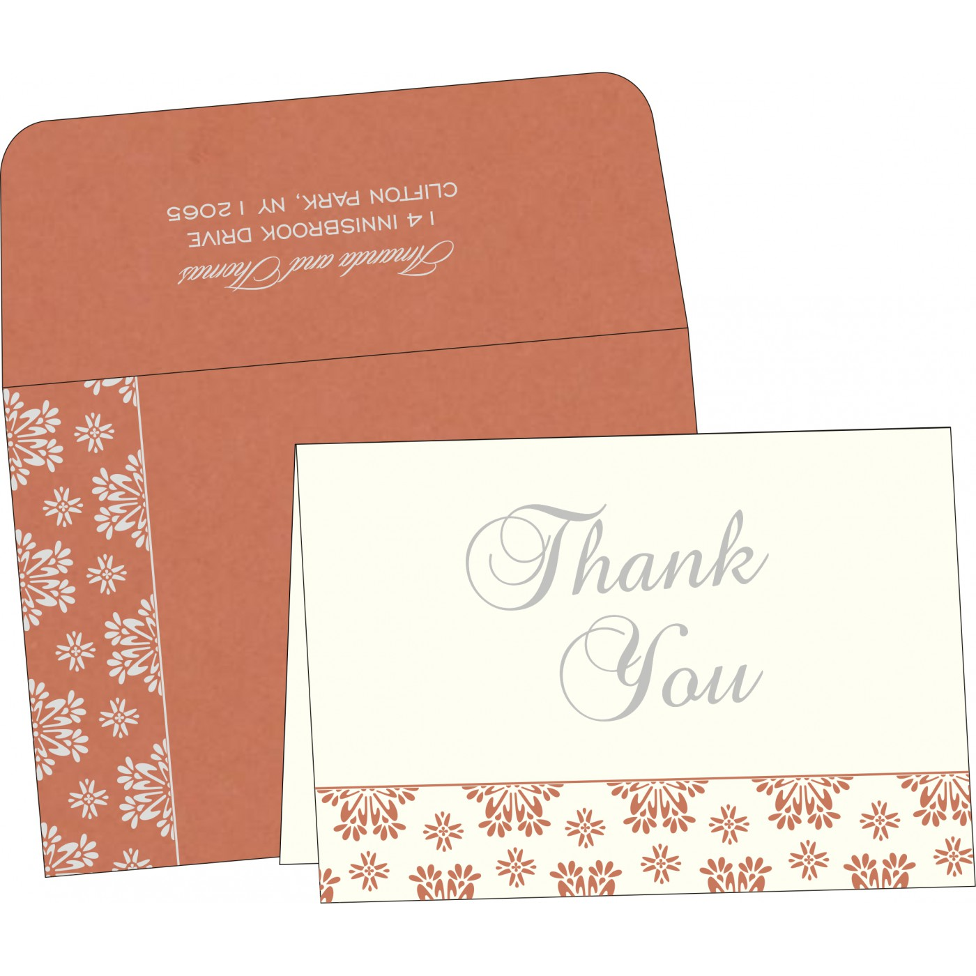 Thank You Cards - TYC-8237C