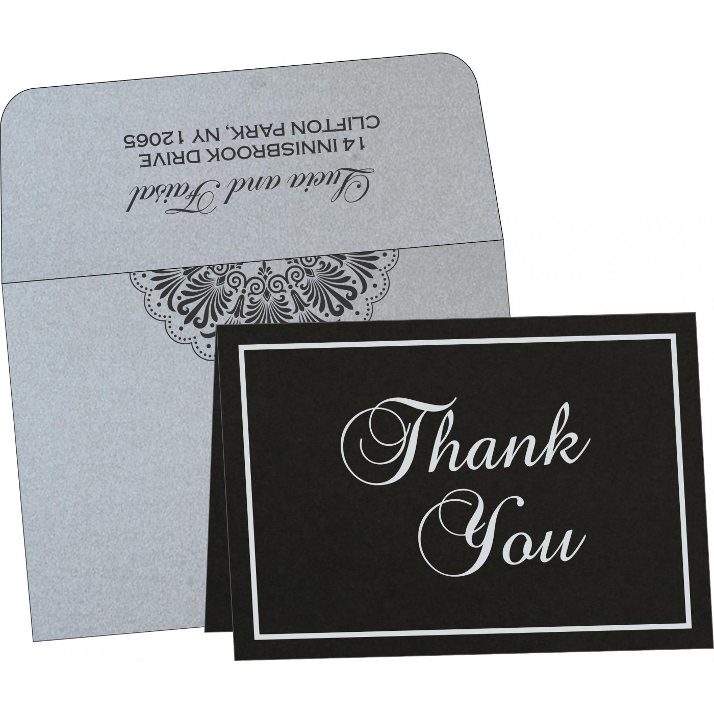Thank You Cards - TYC-8238A