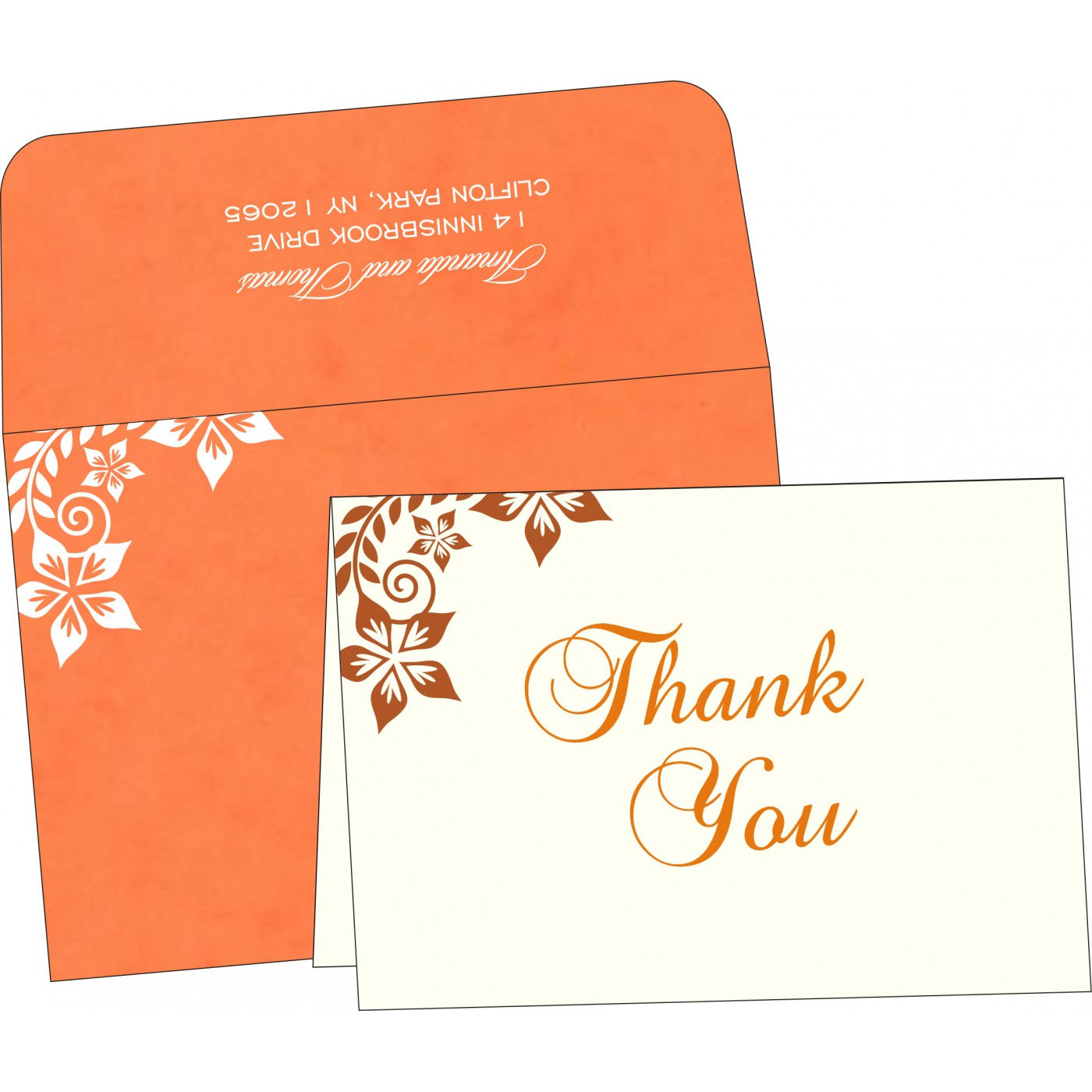 Thank You Cards - TYC-8240M