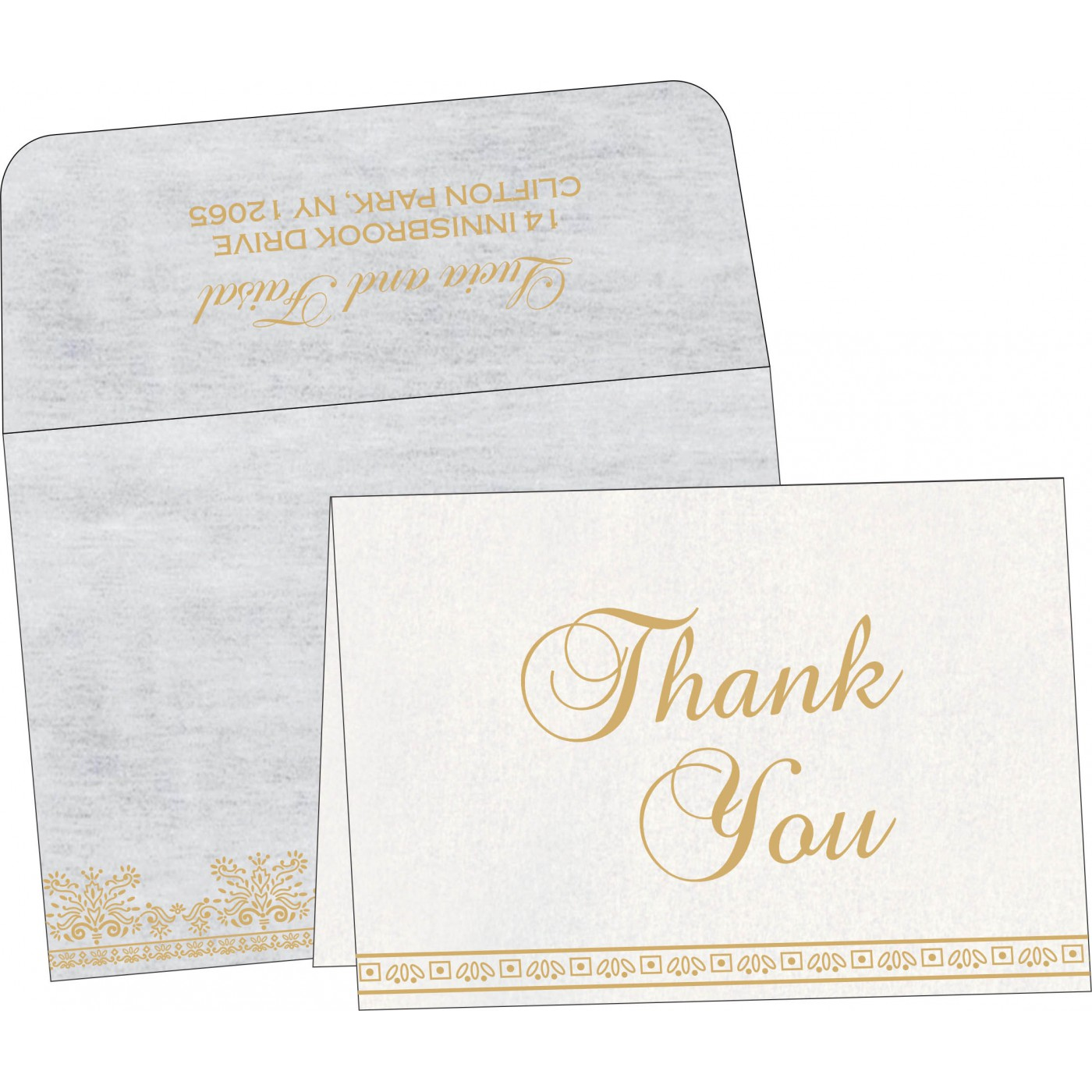 Thank You Cards - TYC-8241A