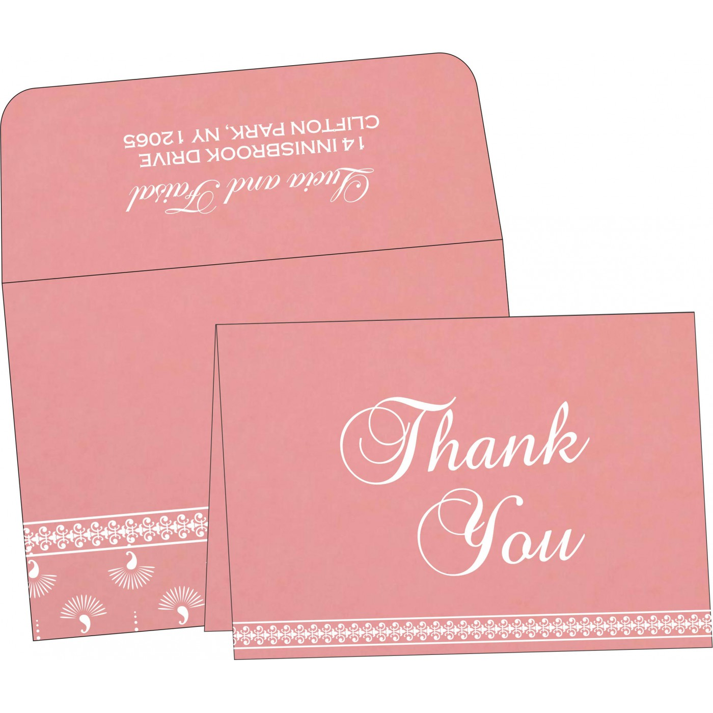 Thank You Cards - TYC-8247A