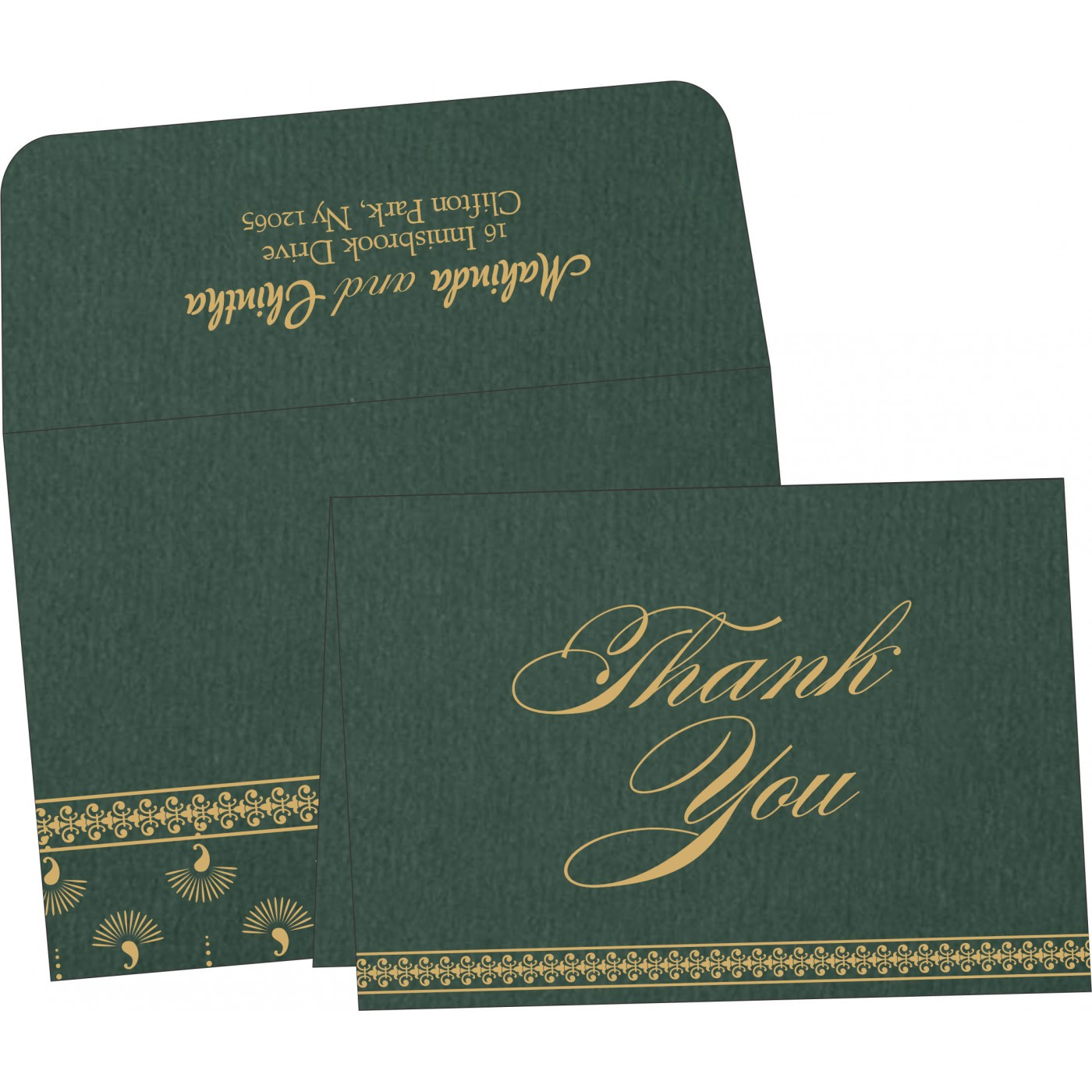 Thank You Cards - TYC-8247N